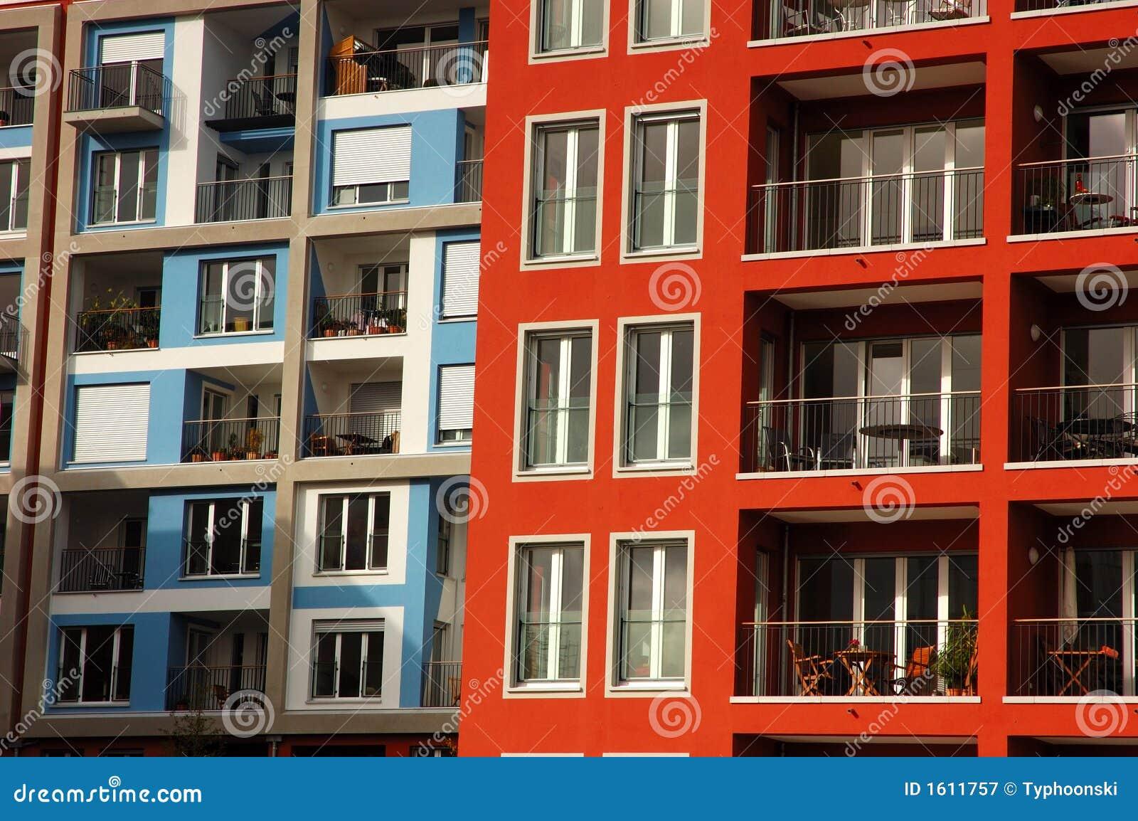 现代的公寓