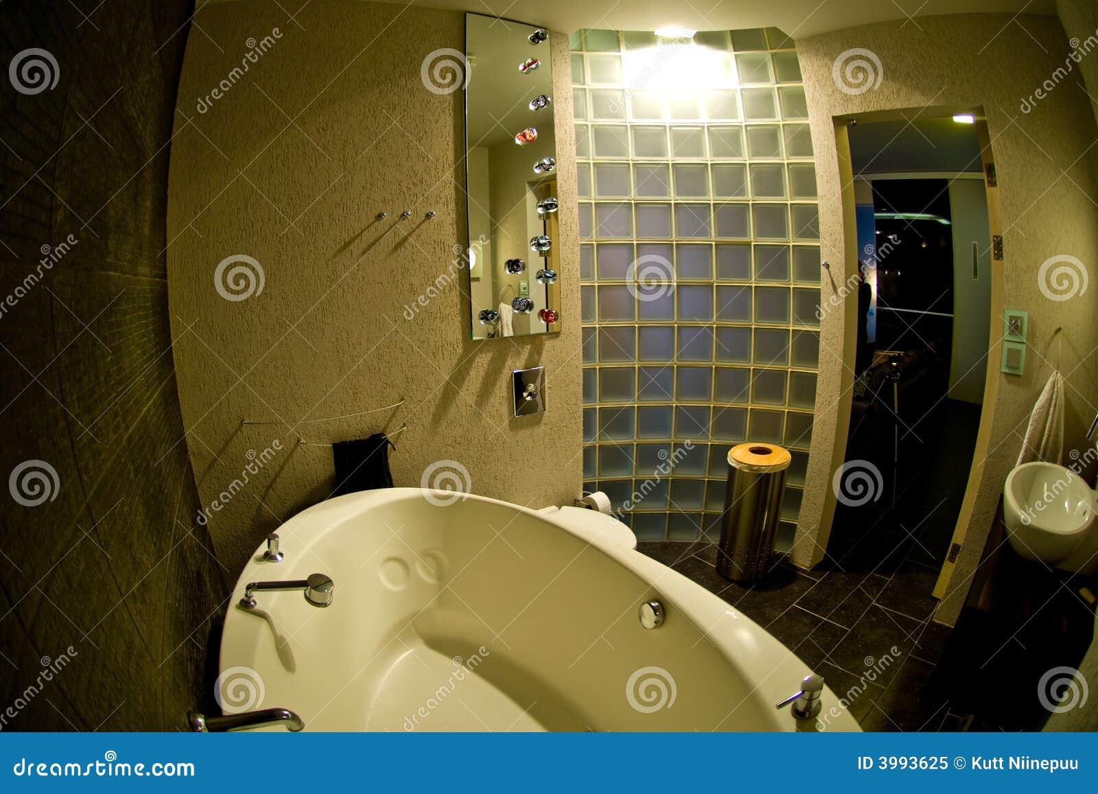 现代的卫生间