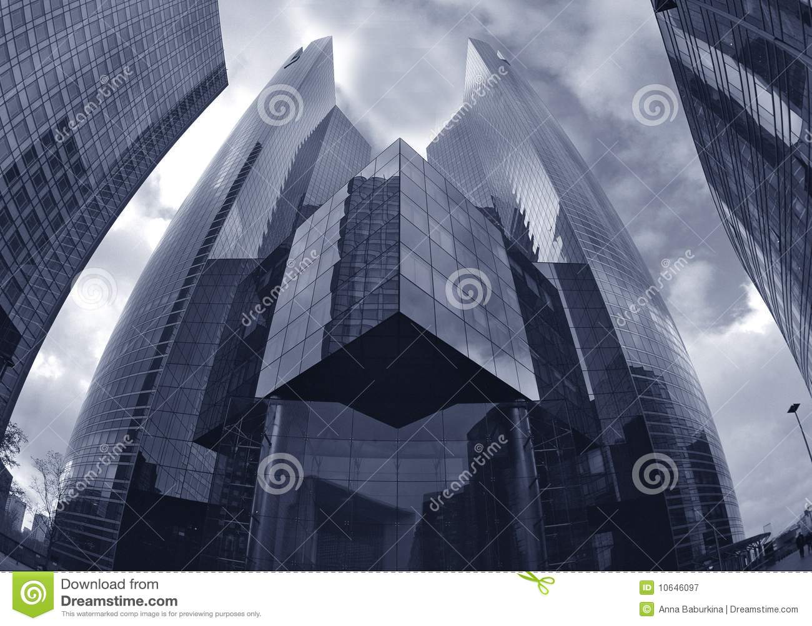 现代的大厦