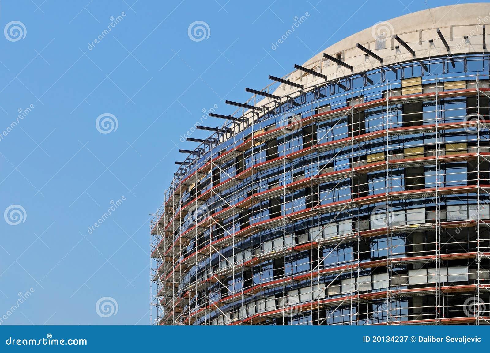 现代的楼房建筑