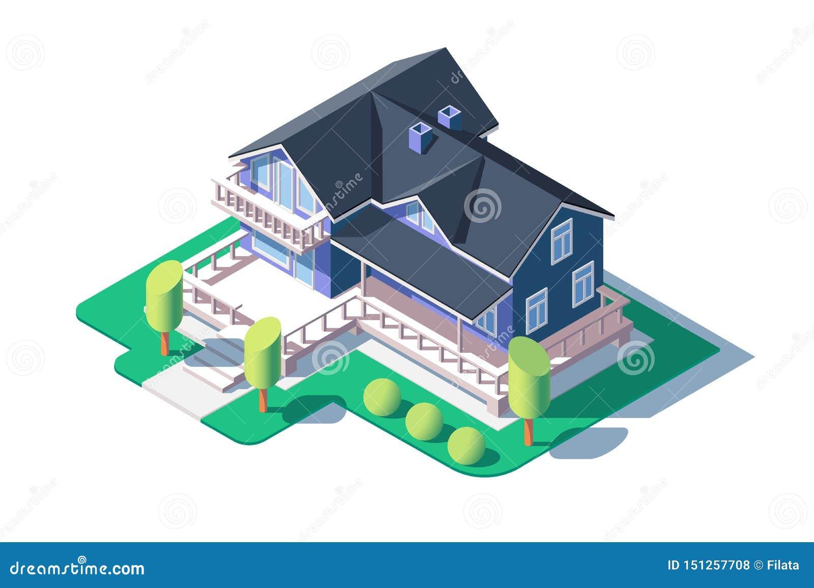 现代私有房子