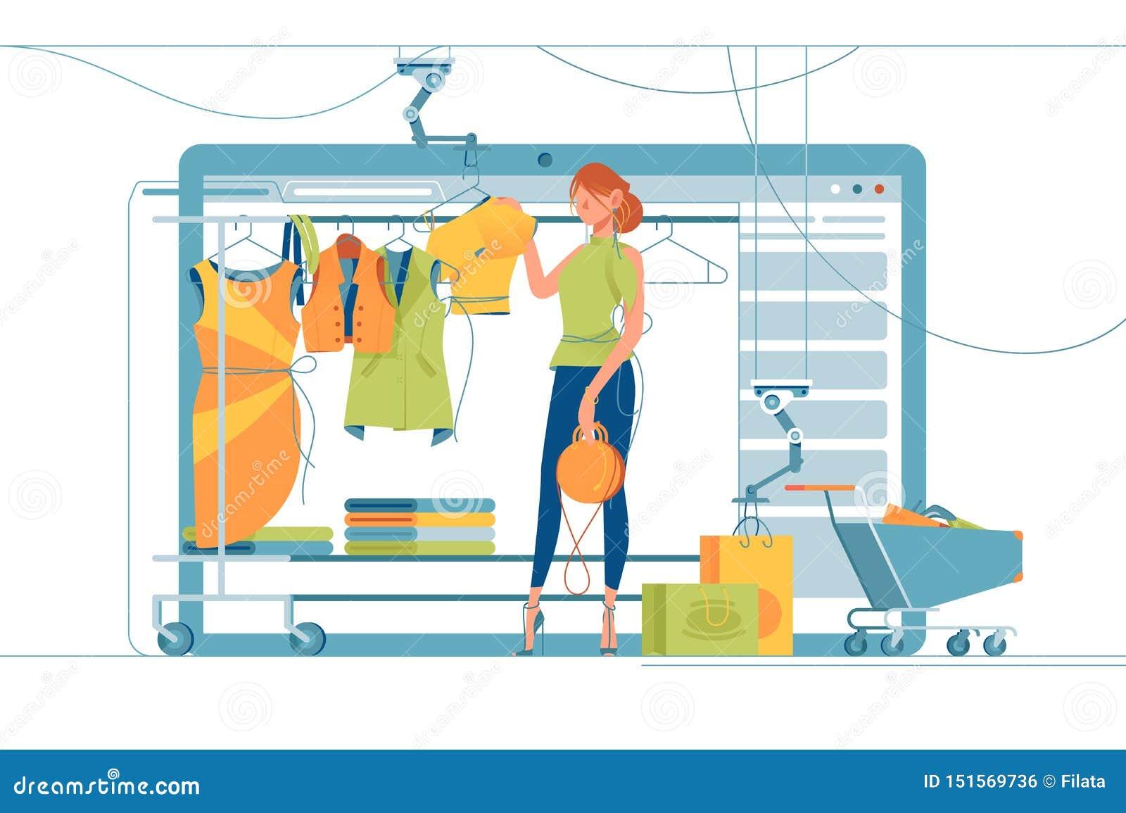 现代购物的立场