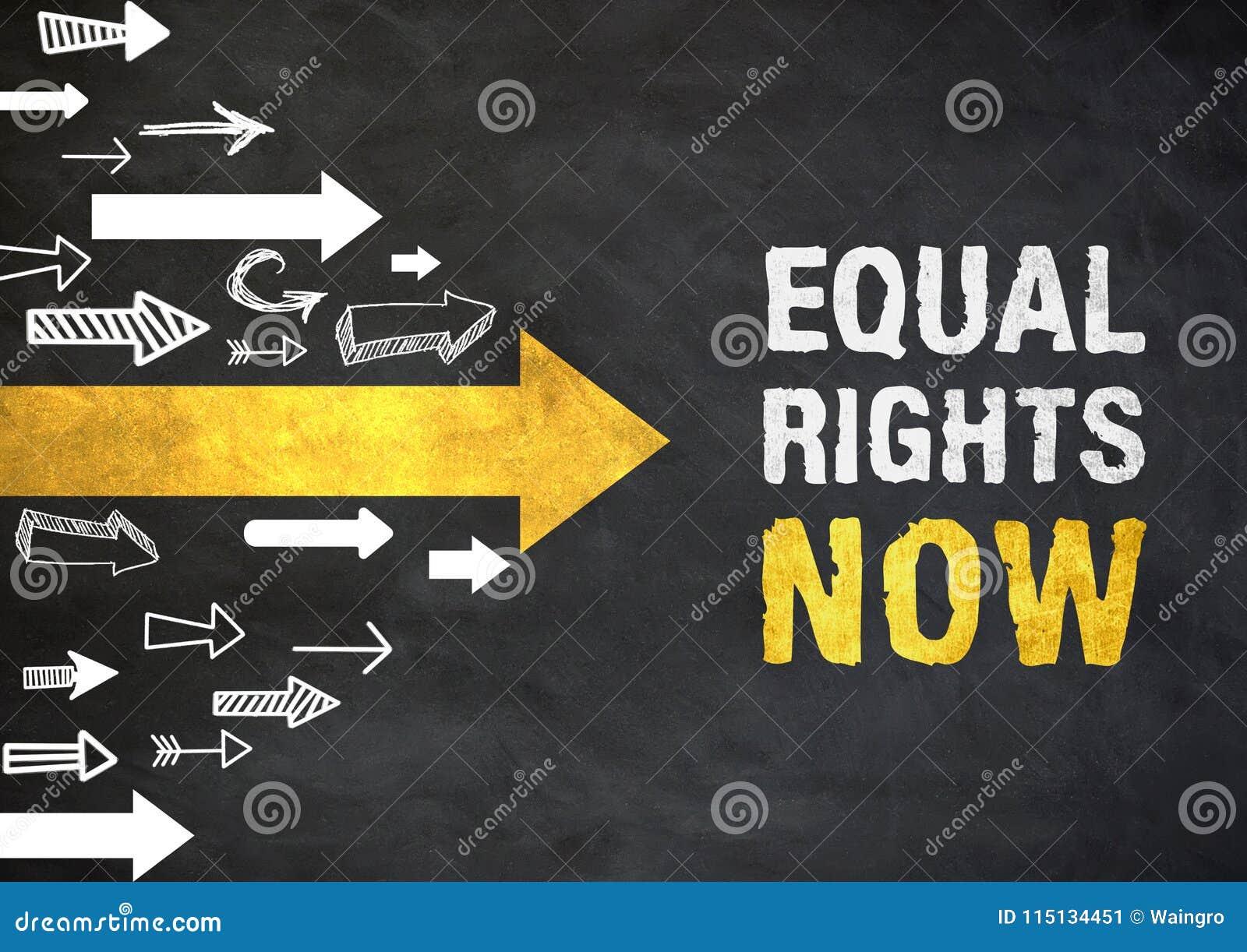 现在平等权利