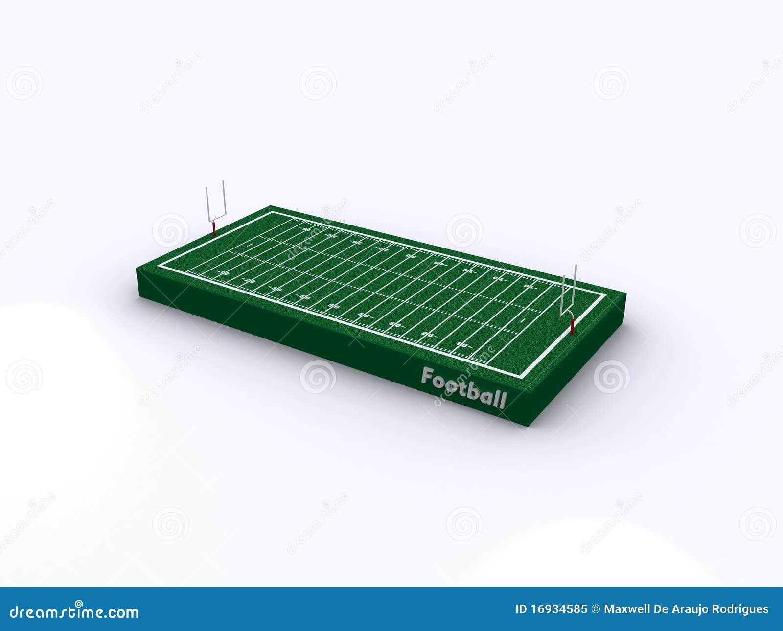 现场橄榄球