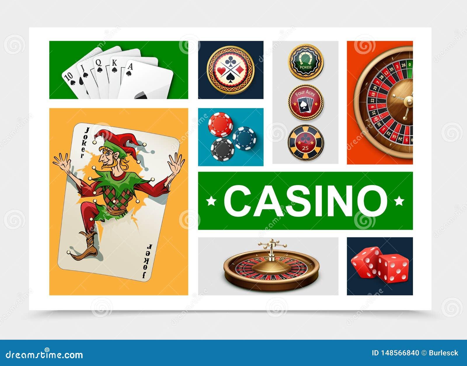 现实赌博娱乐场元素收藏