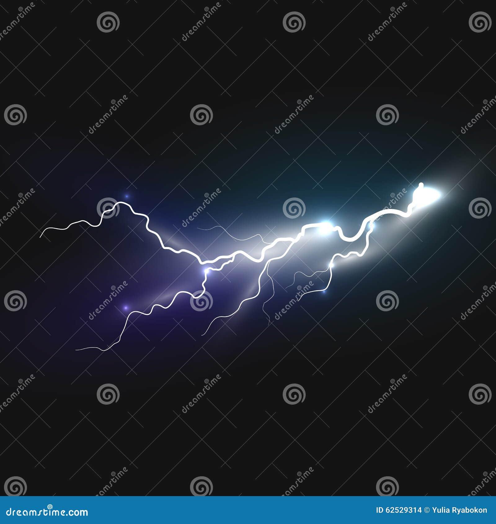 现实闪电象