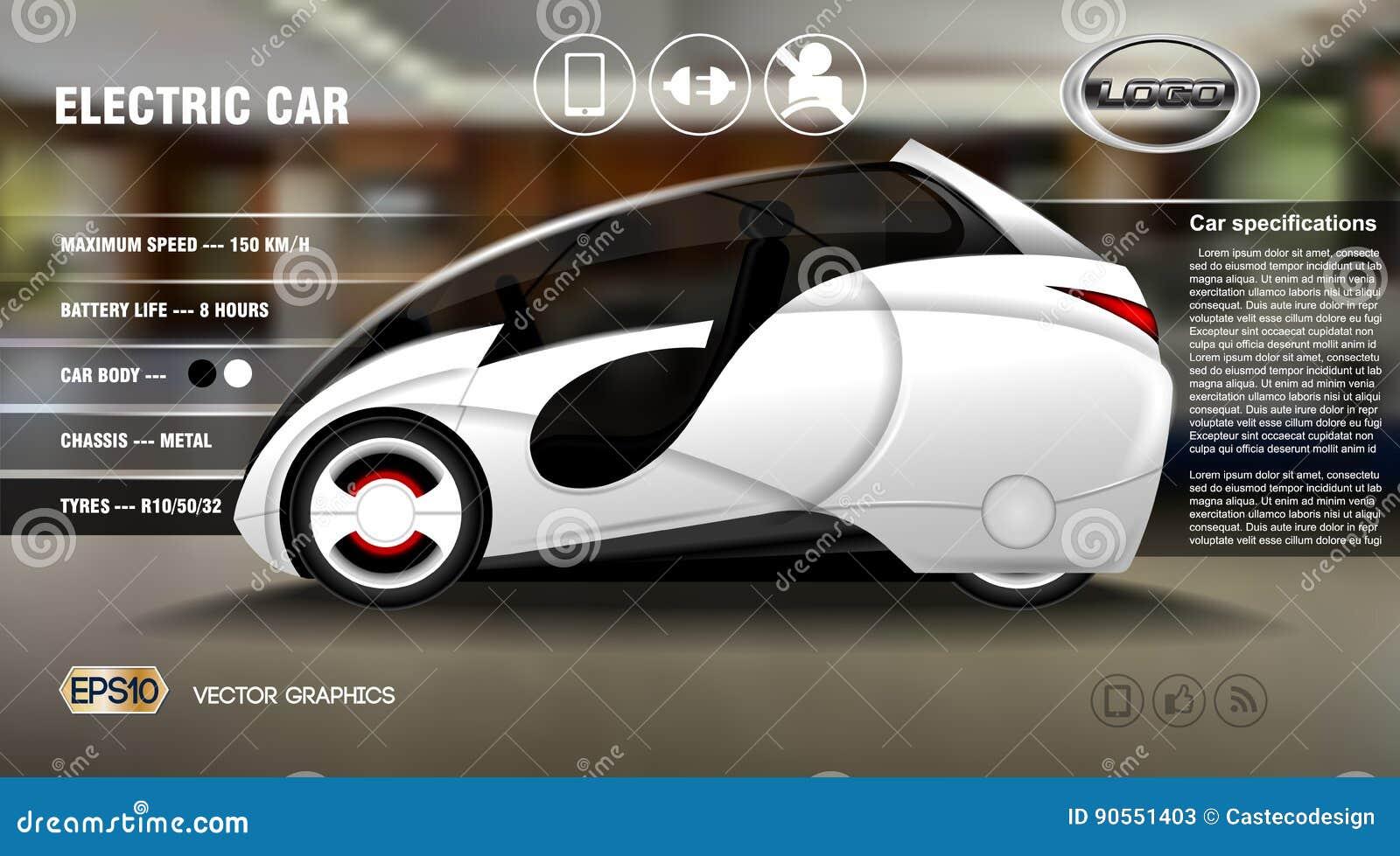 现实3d电车信息图表概念 数字式传染媒介与象的电车海报