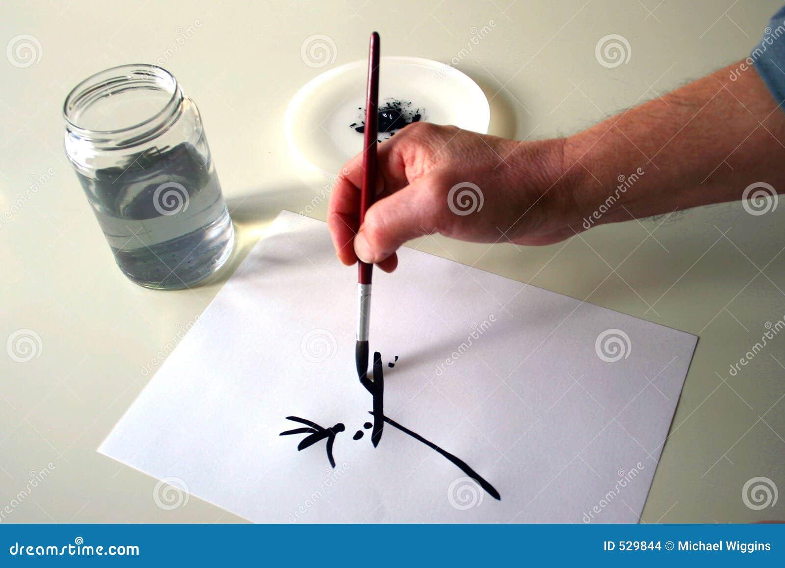 Download 现有量绘画 库存照片. 图片 包括有 工作, 技艺家, 空白, 绘画, 想象, 想象力, 水彩, 油漆, 抽象 - 529844