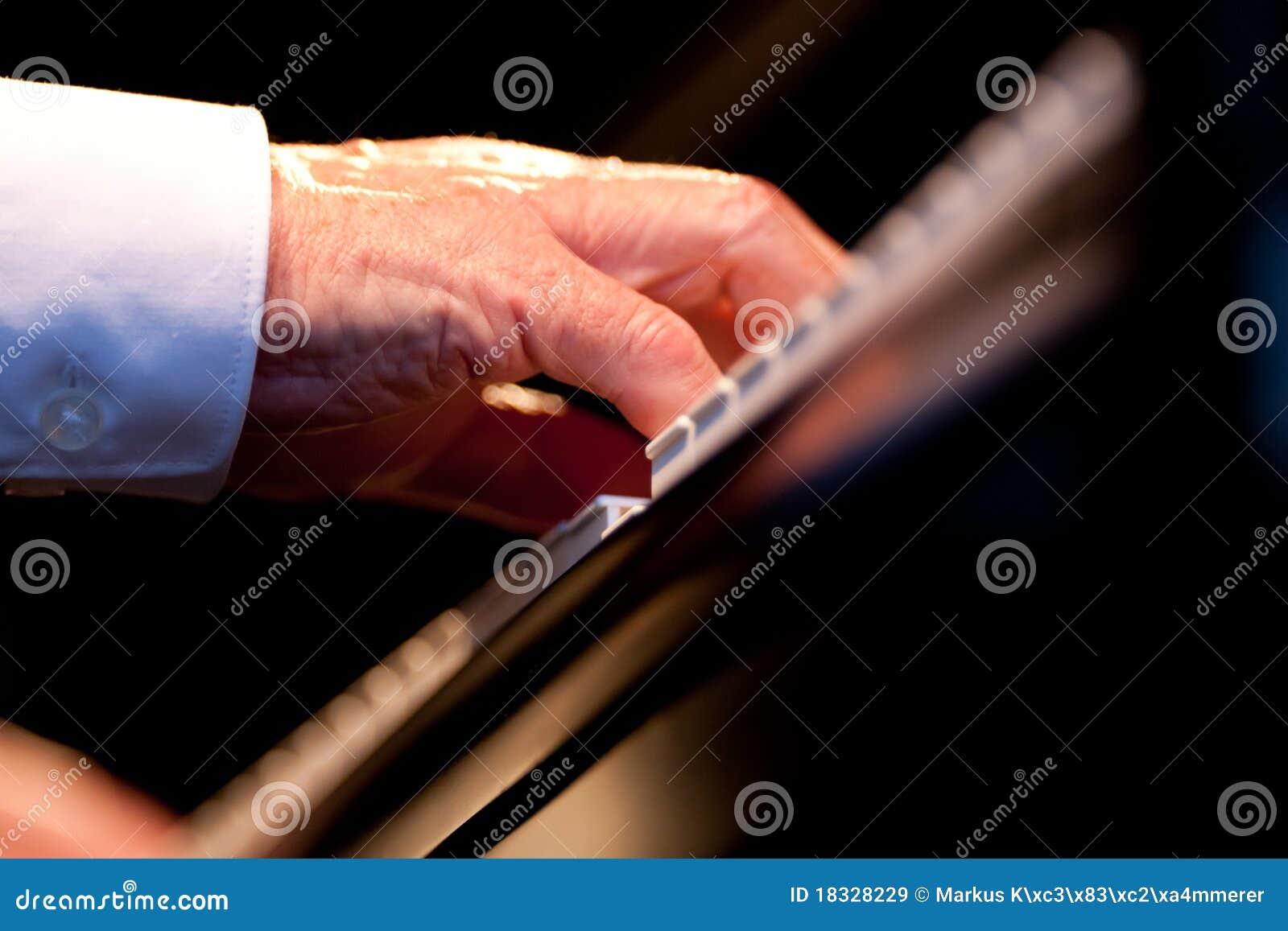现有量音乐家钢琴使用