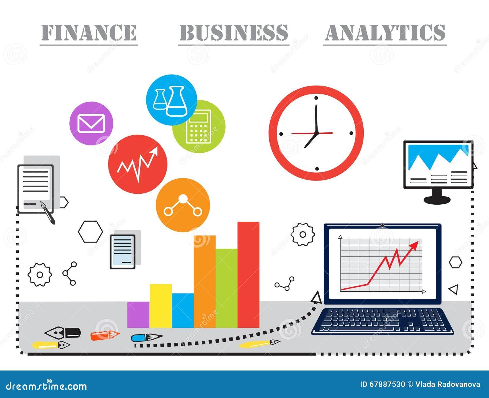 现代企业概念、分析家和财务