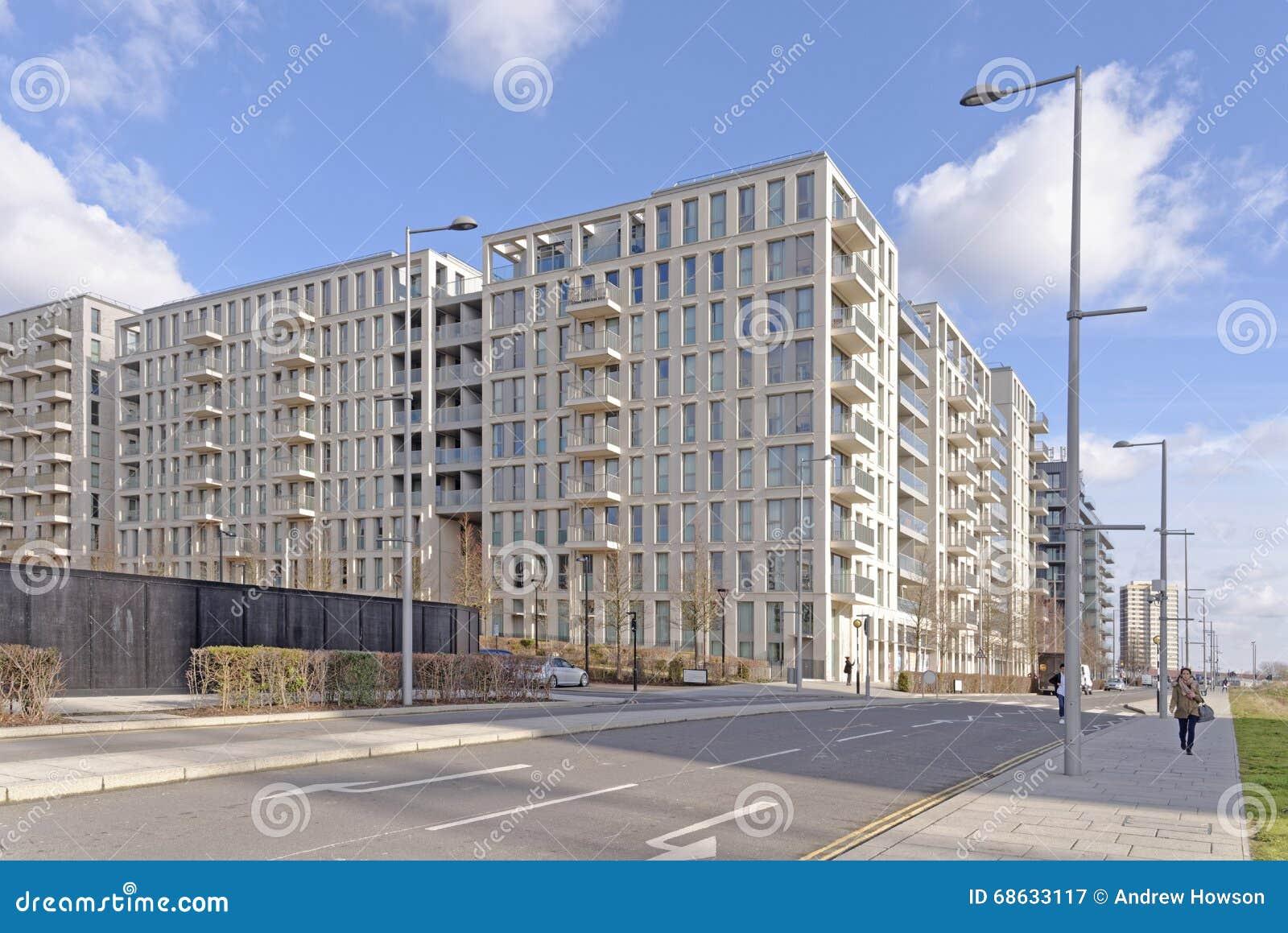 现代公寓builldings