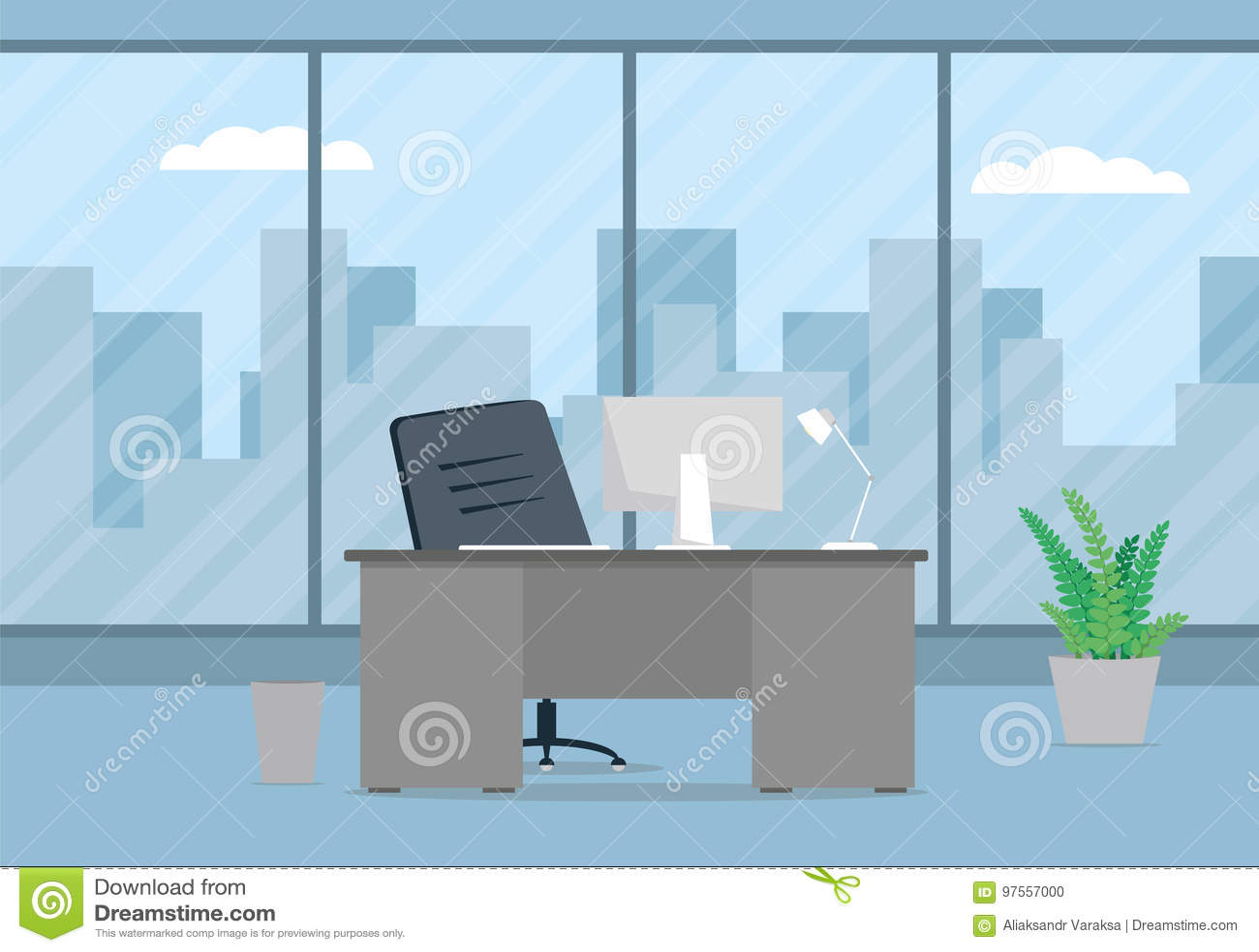 现代办公室设计师工作场所设计