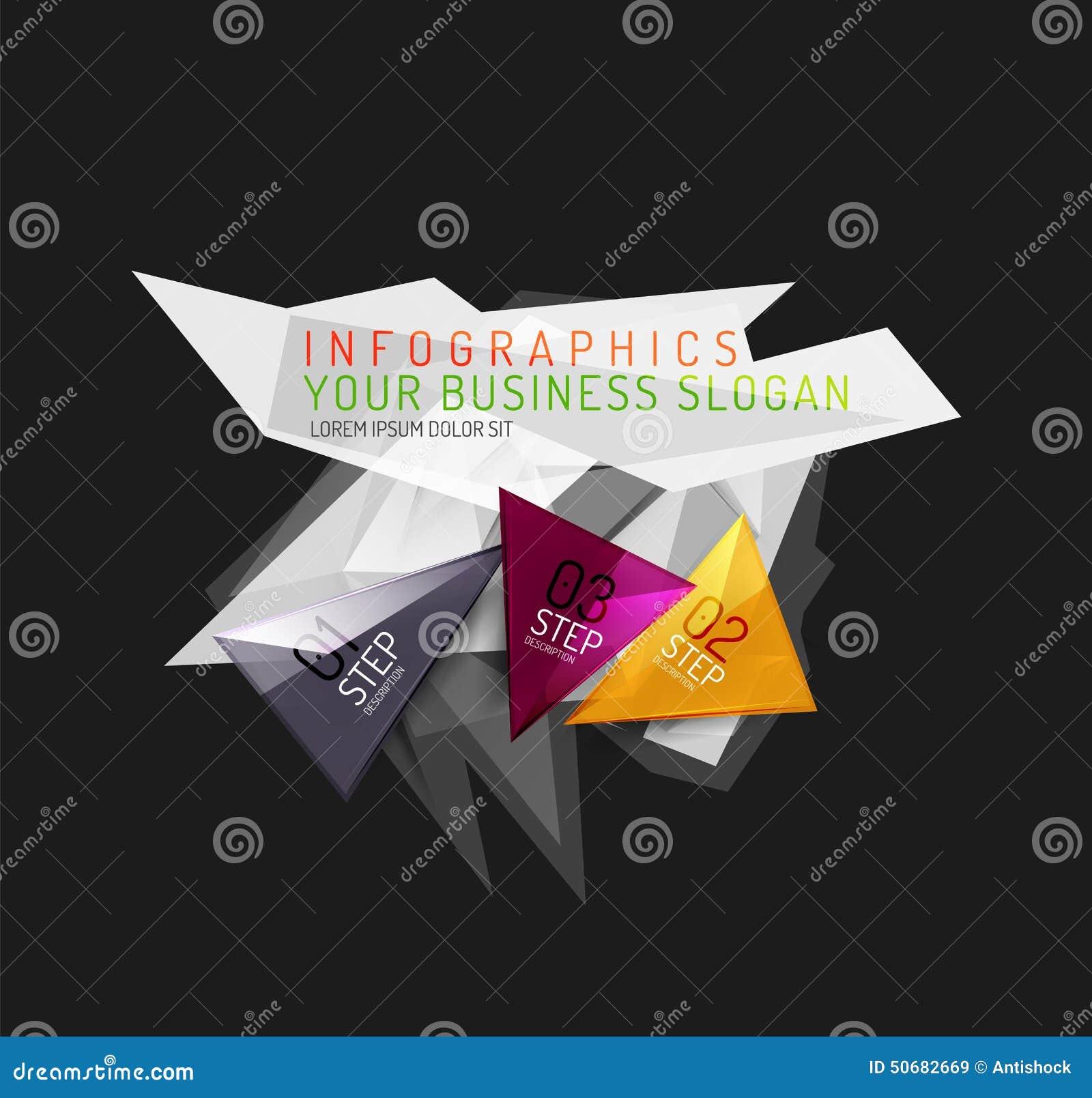 Download 现代多角形origami纸infographics 向量例证. 插画 包括有 财务, 选项, 标签, 图象 - 50682669