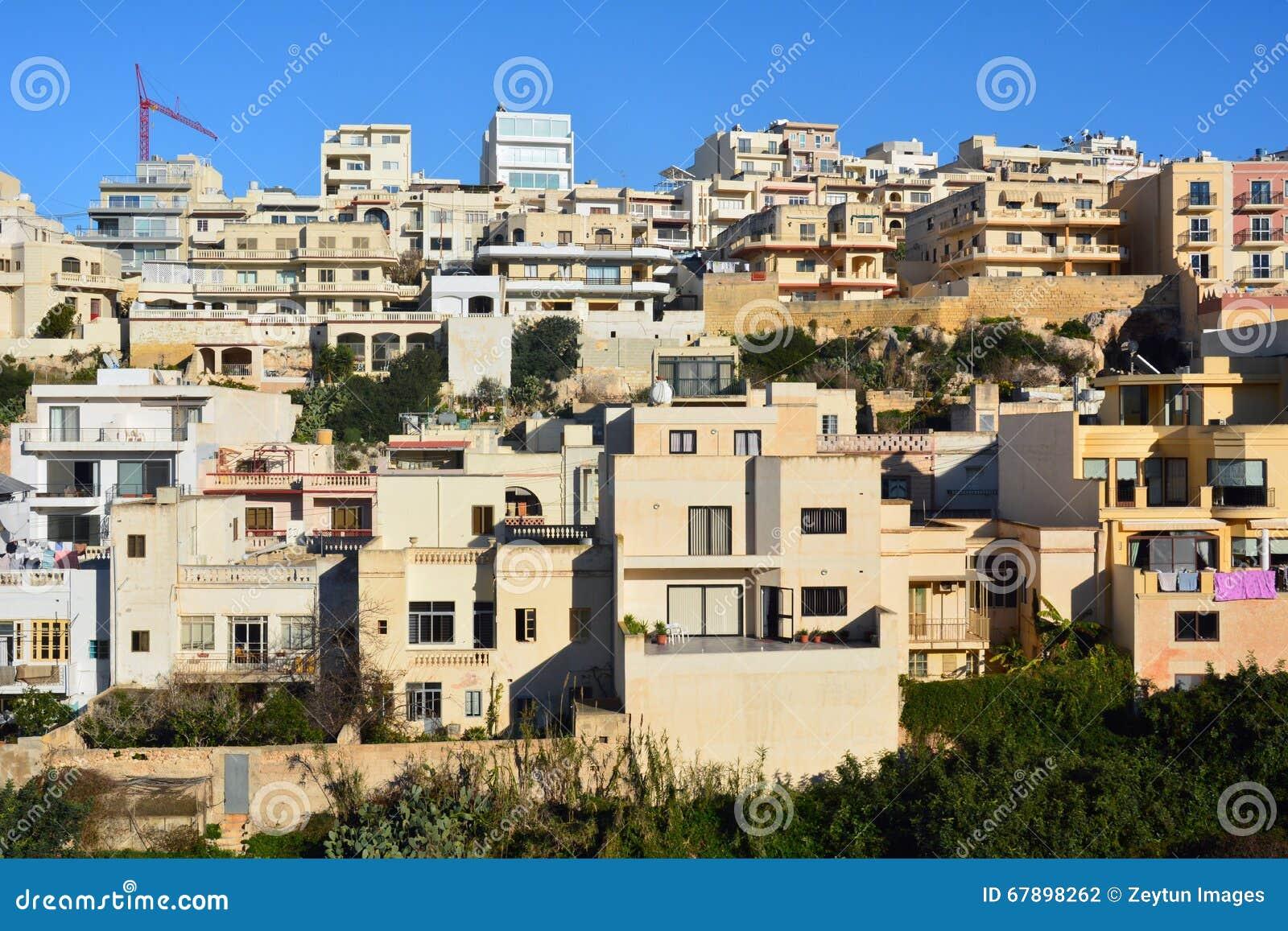 现代居民住房在Mellieha