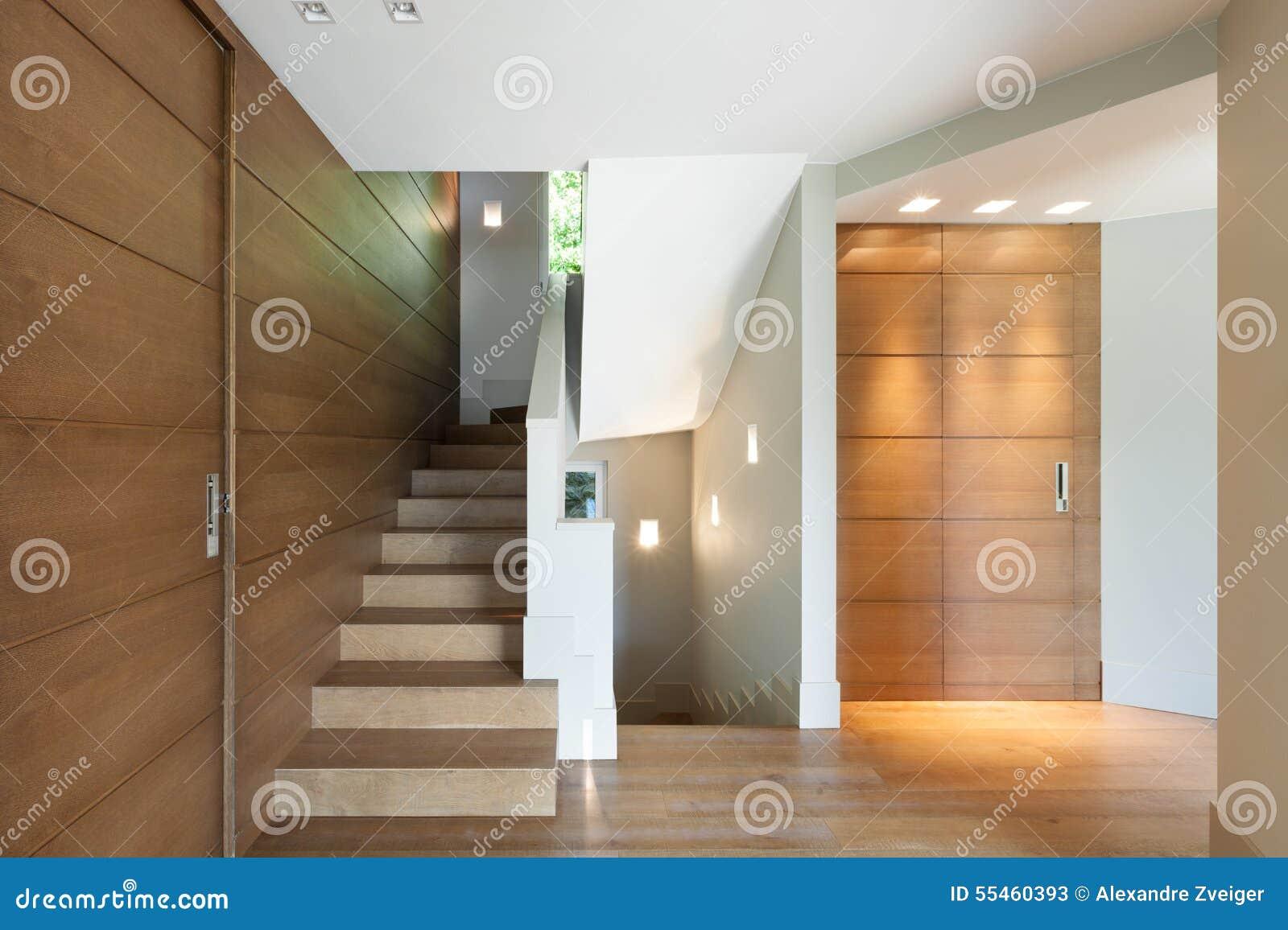 现代房子,楼梯