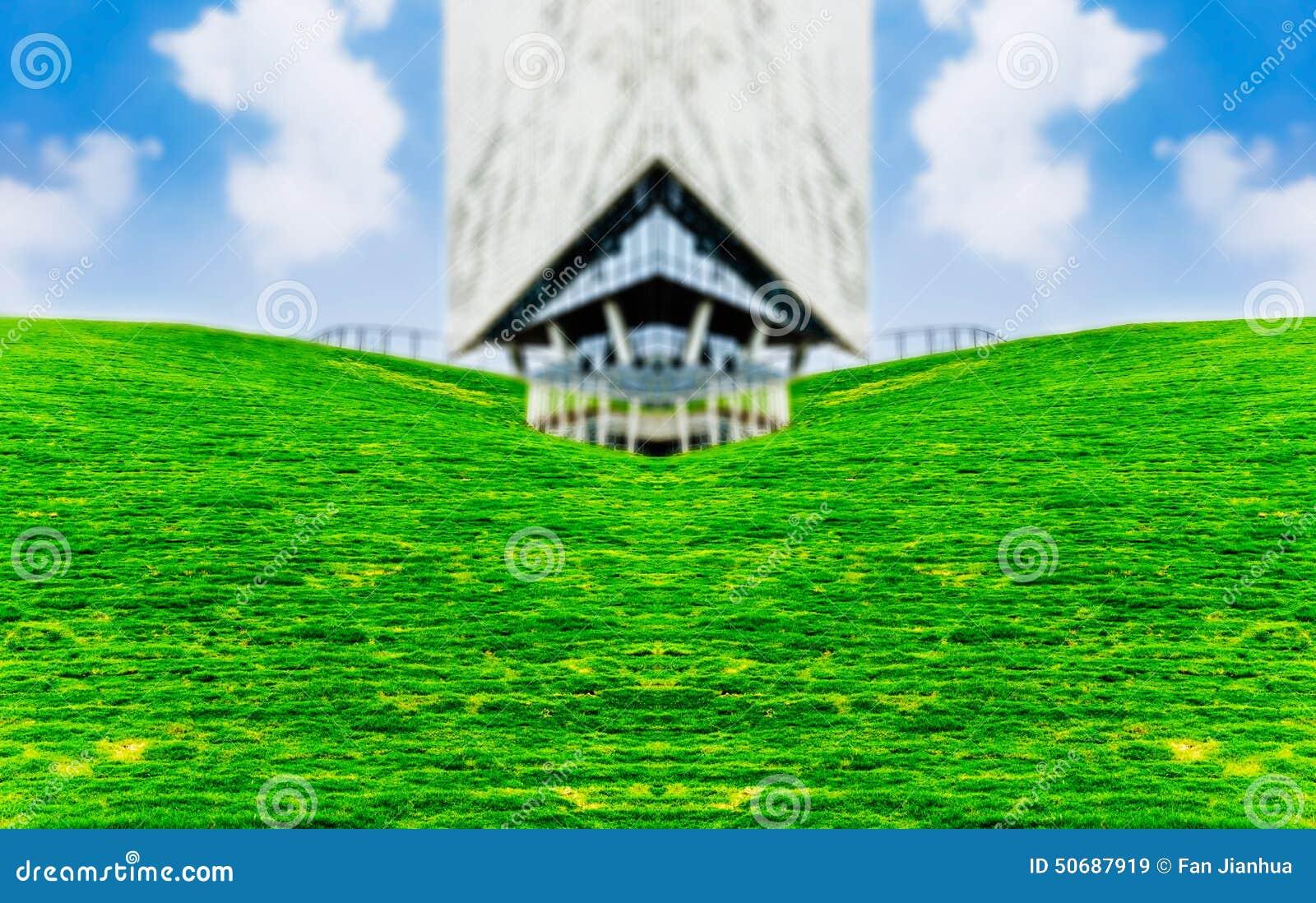 Download 现代建筑学和城市绿色空间 库存图片. 图片 包括有 健康, 增长, 环境, 自由, 抽象, 室外, 协调 - 50687919