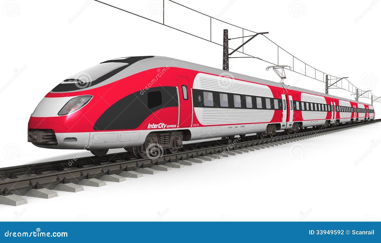 现代高速火车图片