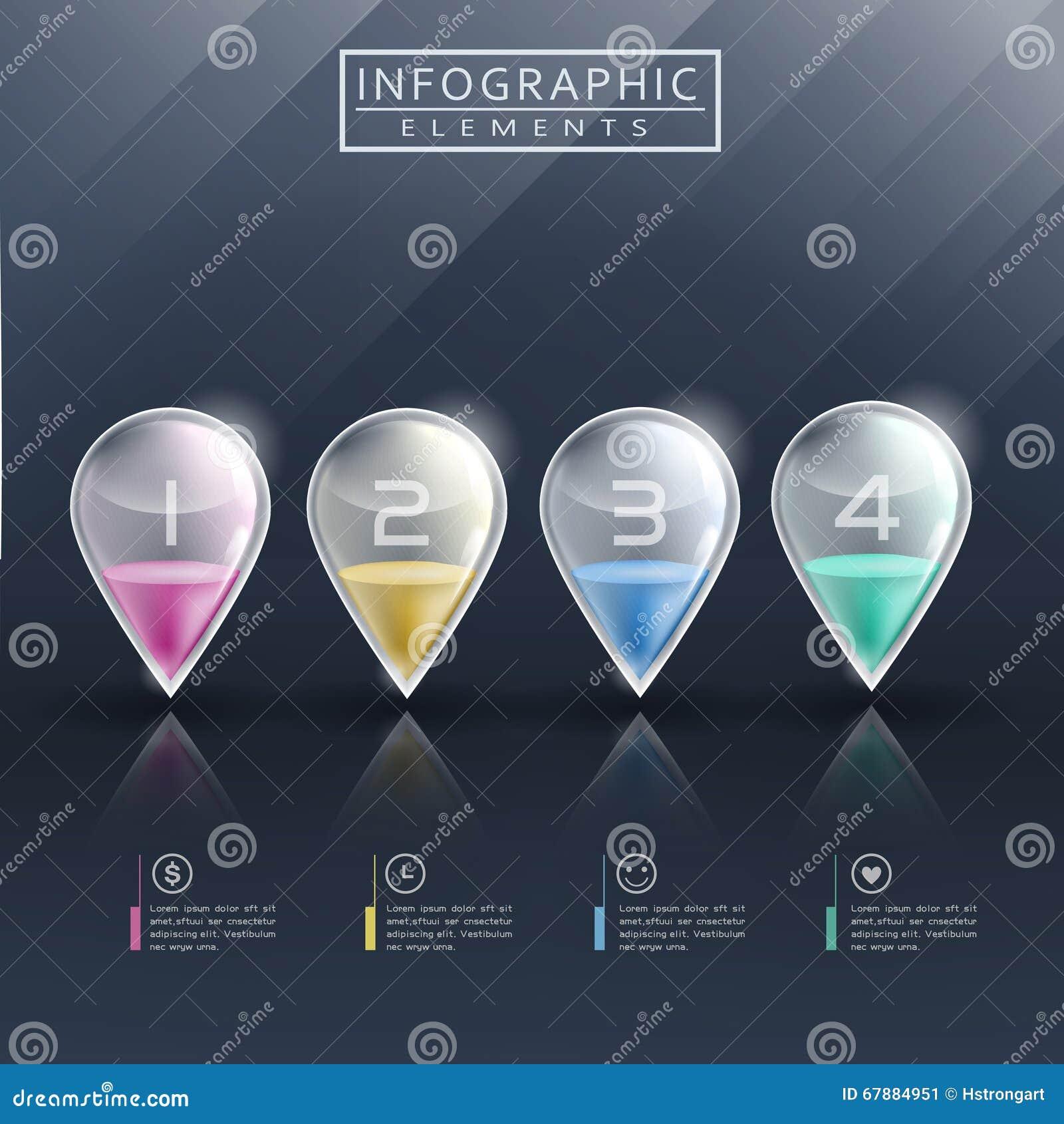 现代infographic模板