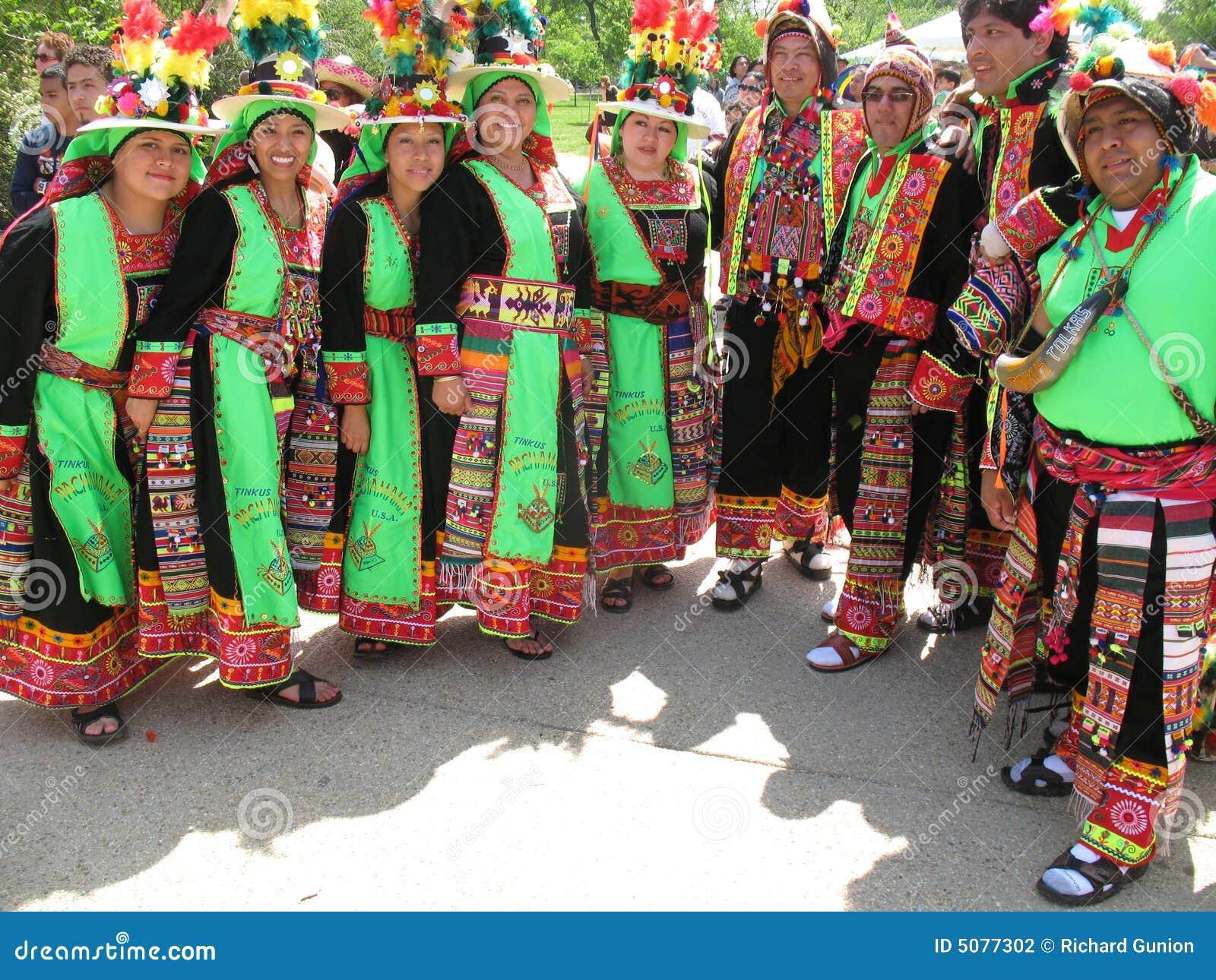 玻利维亚的舞蹈马戏团