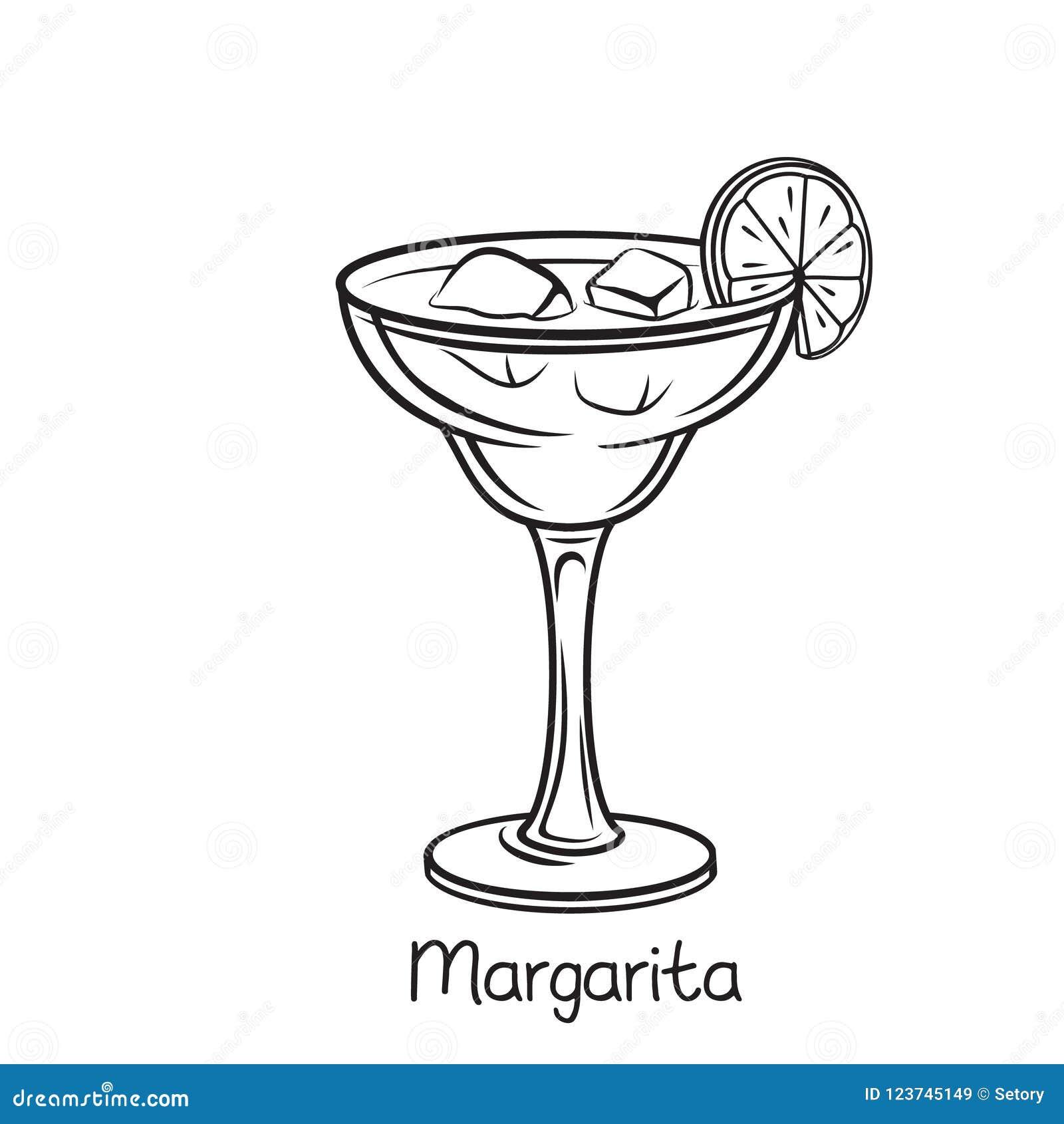 玻璃玛格丽塔酒