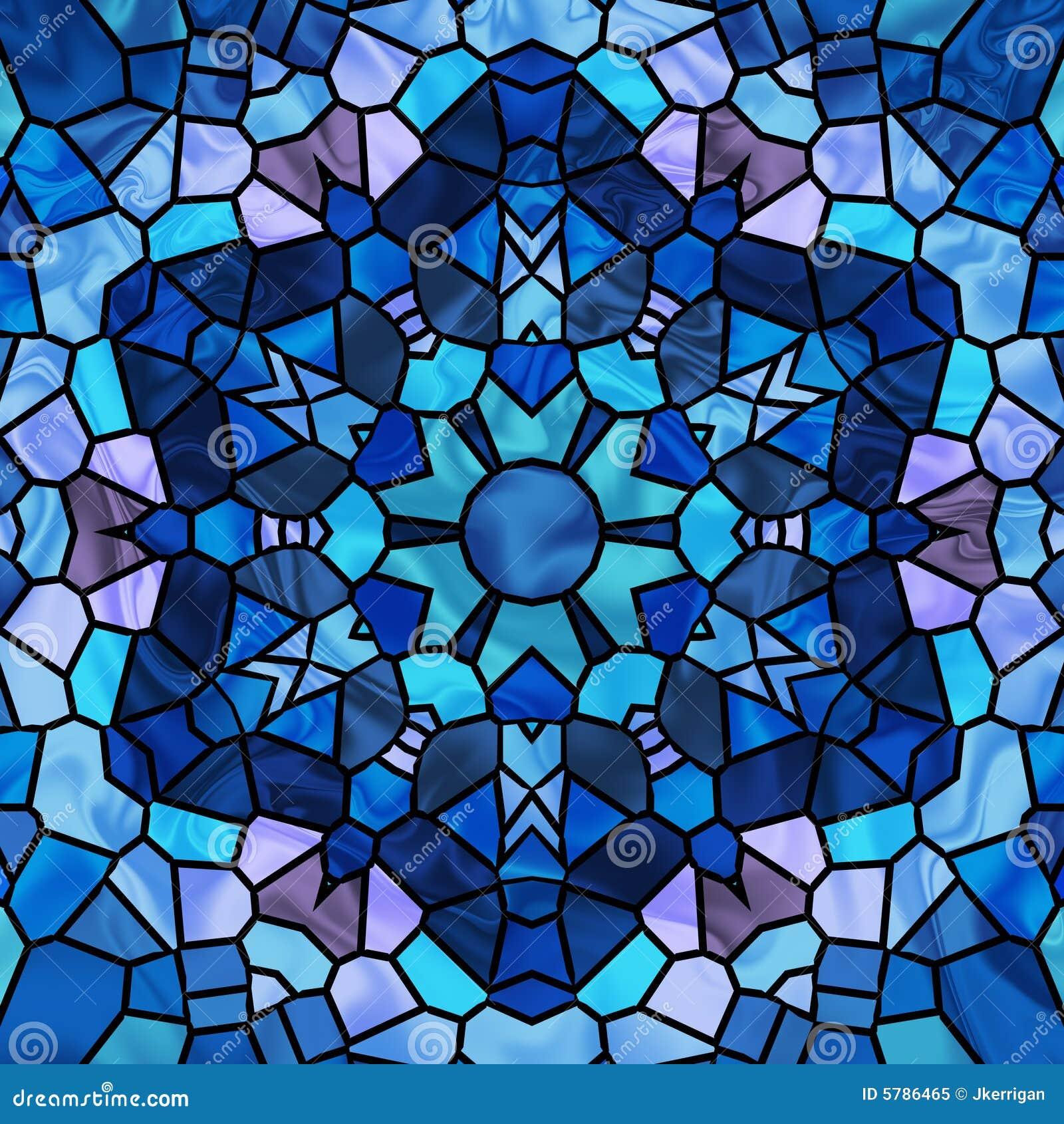 玻璃被弄脏的星形