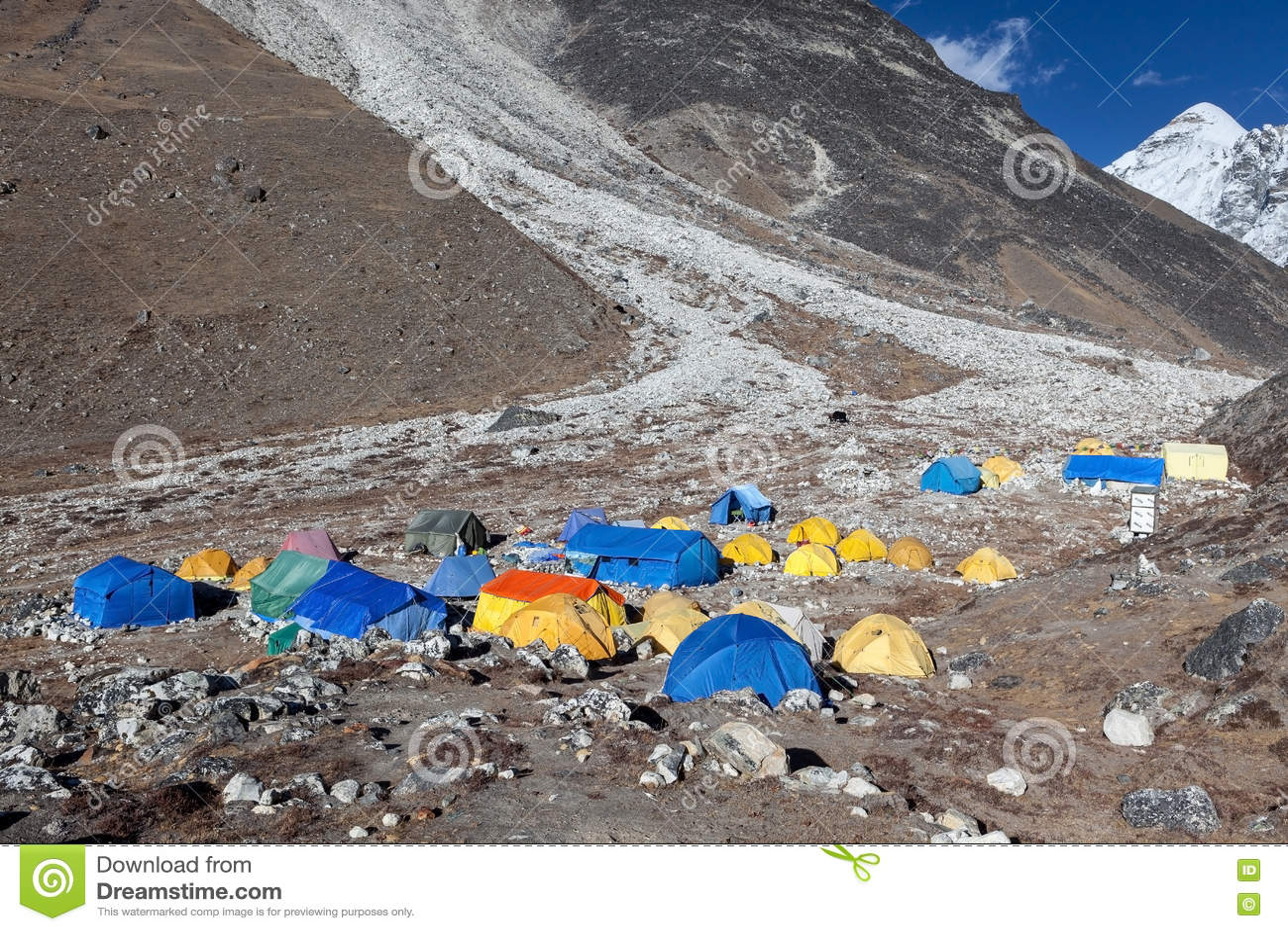 珠穆琅玛营地TREK/NEPAL - 2015年10月25日