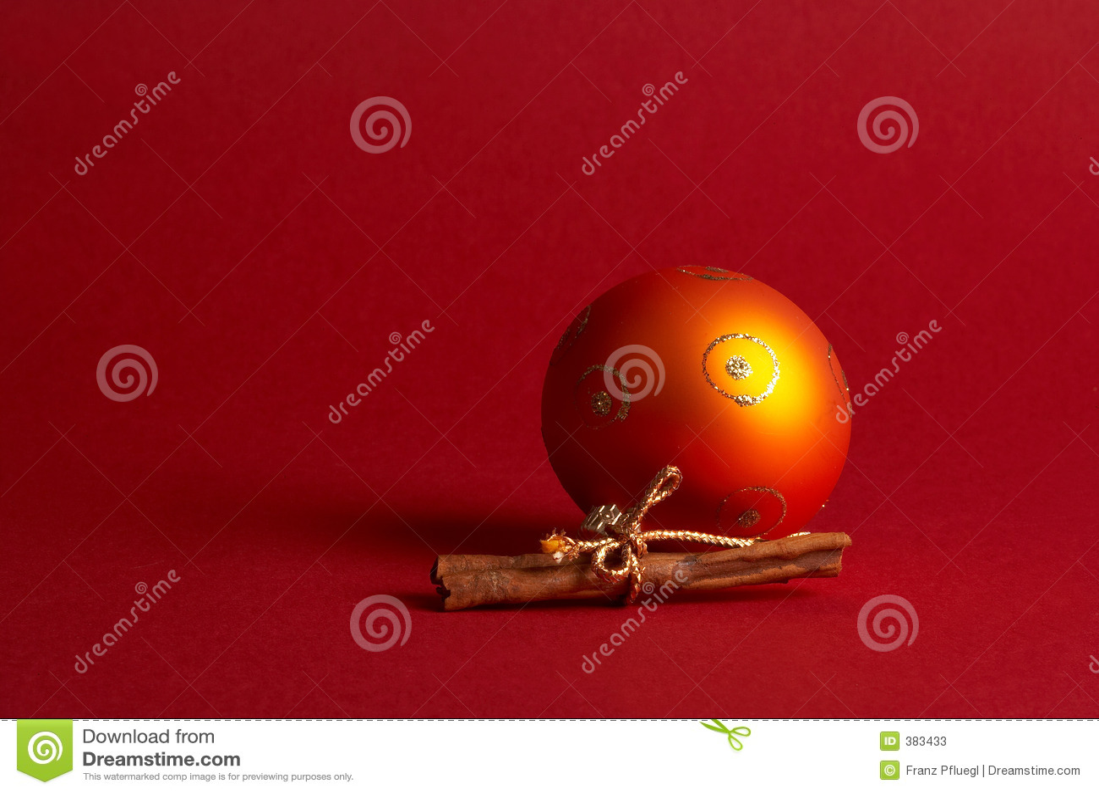 球圣诞节橙树weihnachtskugel