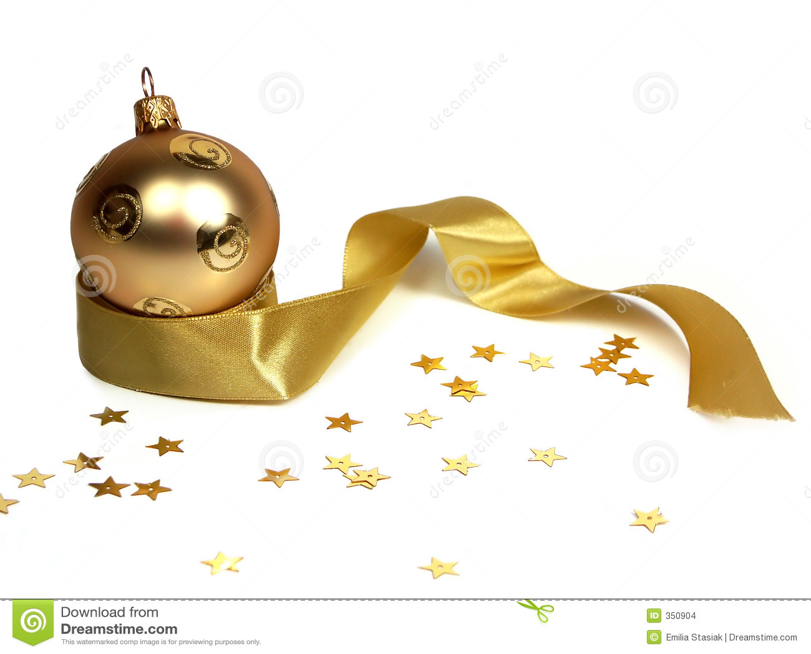 球圣诞节金子