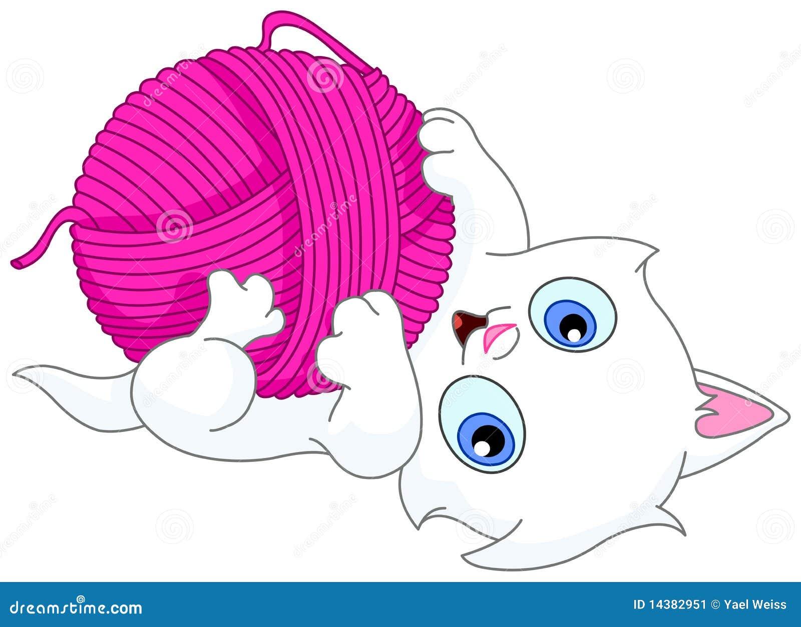 球小猫羊毛