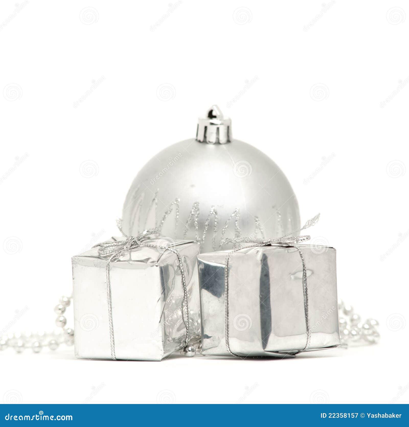 球把圣诞节银二装箱