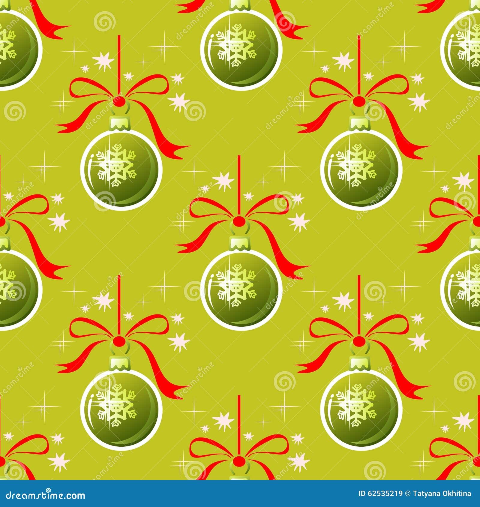 球无缝圣诞节的模式