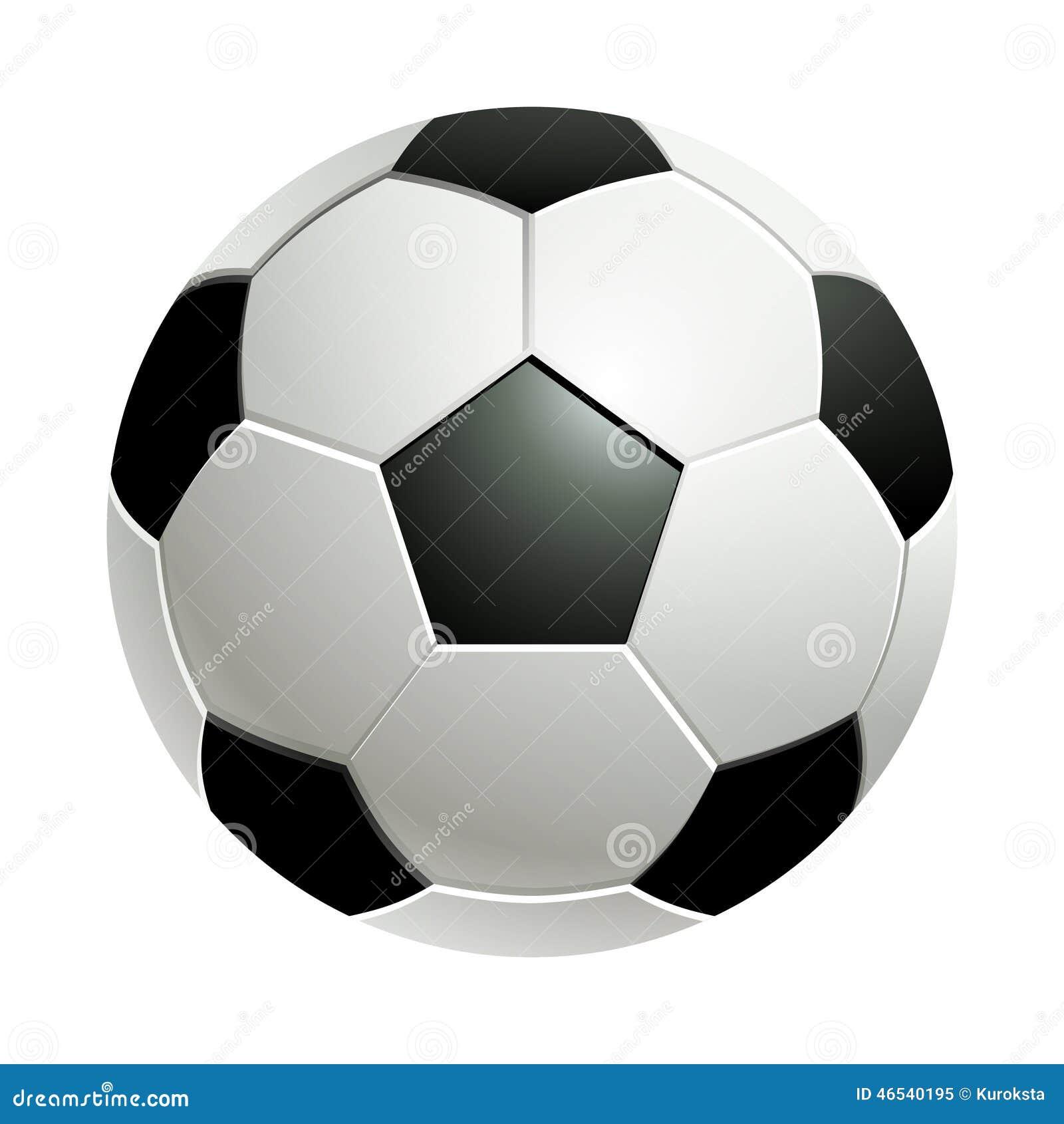 球查出的足球白色