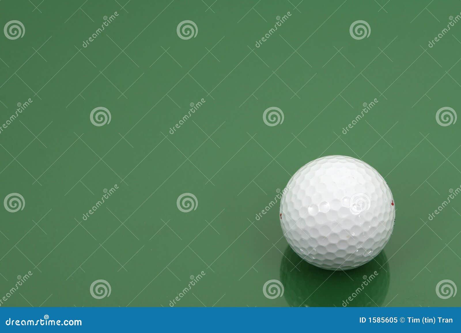 球水平框架的高尔夫球