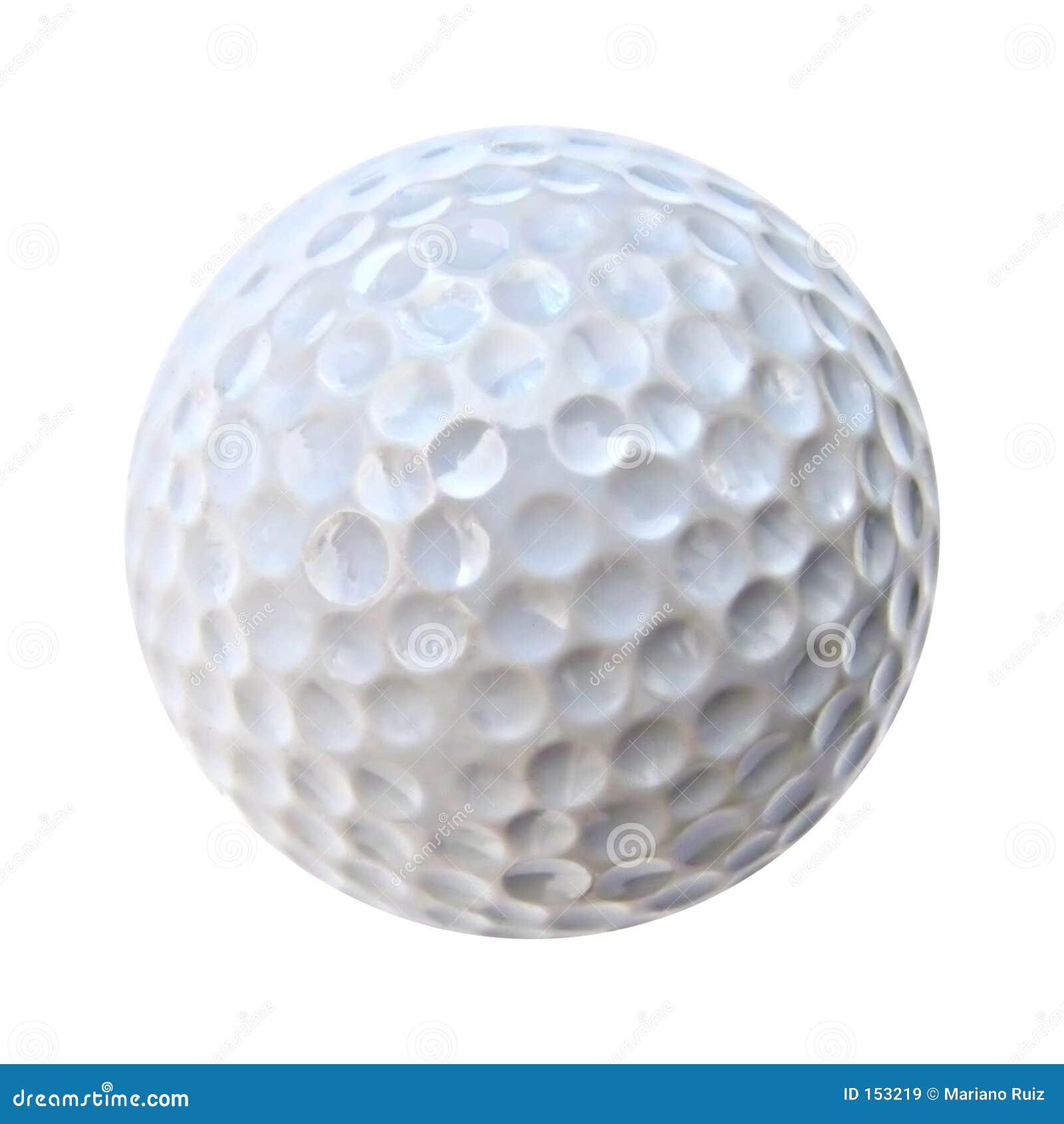 球高尔夫球白色