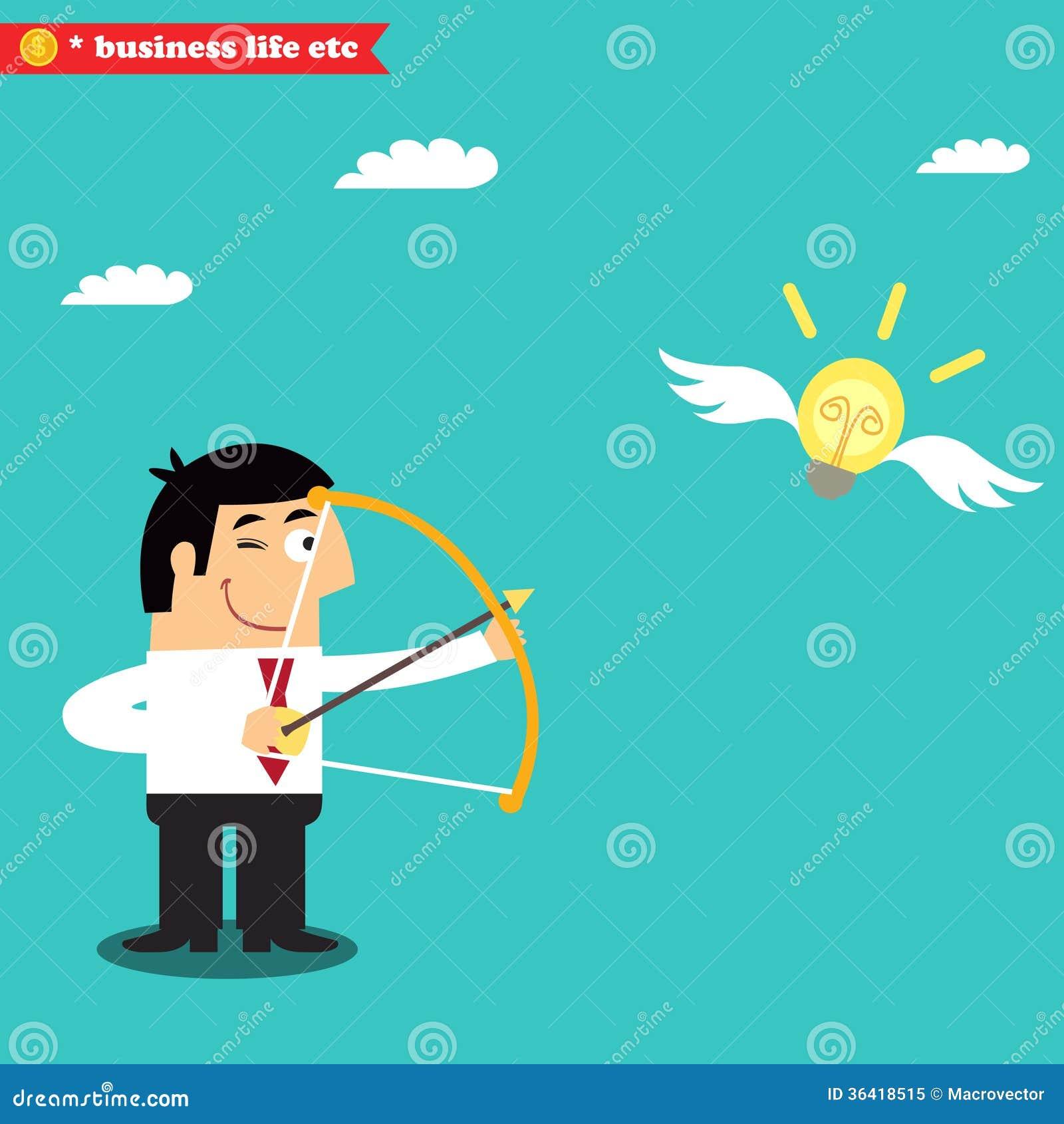 经理瞄准电灯泡有企业想法