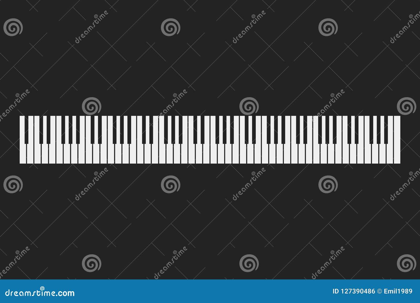 琴键仪器背景
