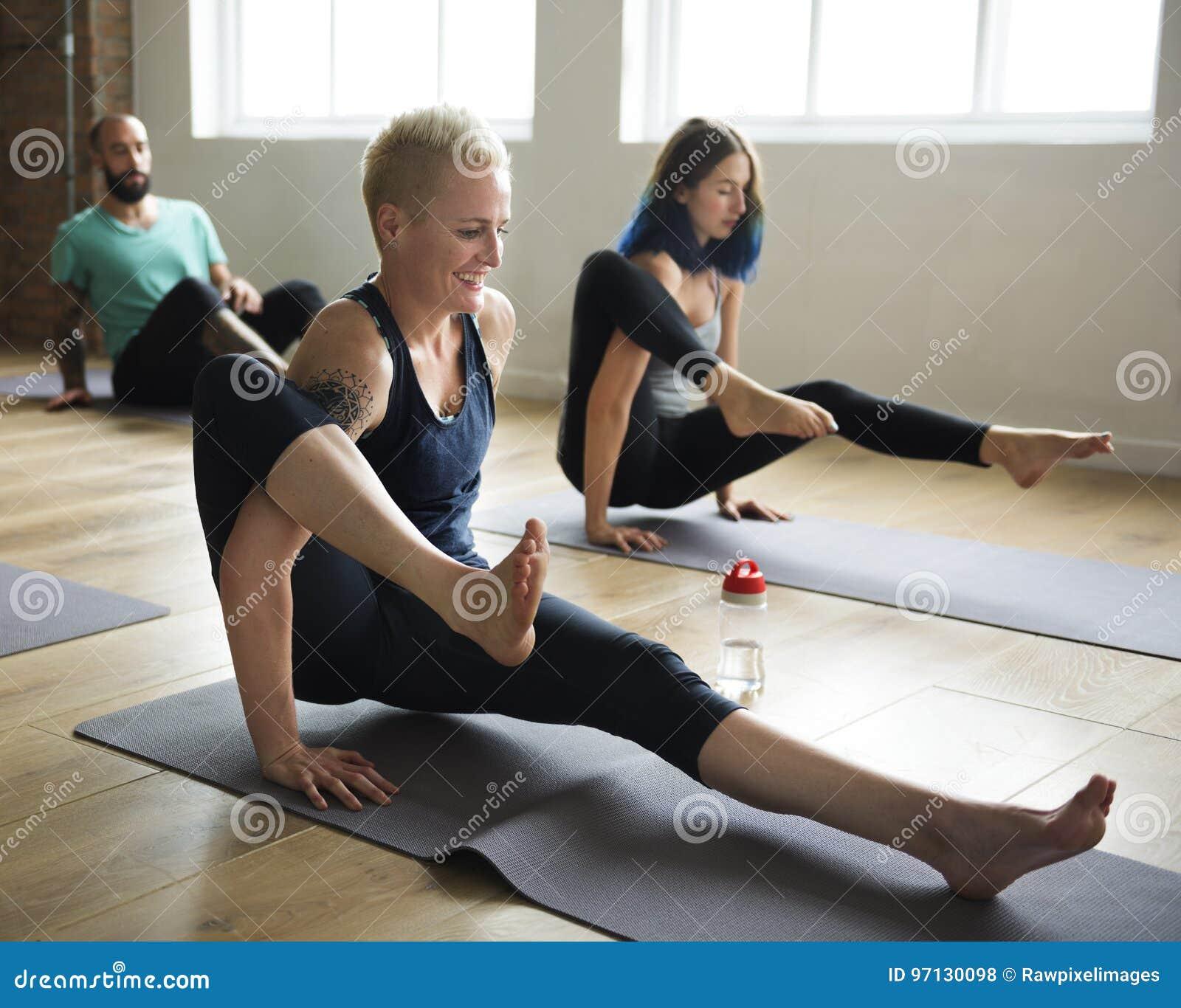 瑜伽练习类概念