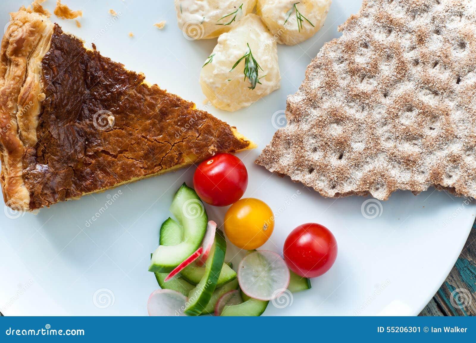 瑞典人Vasterbotten饼