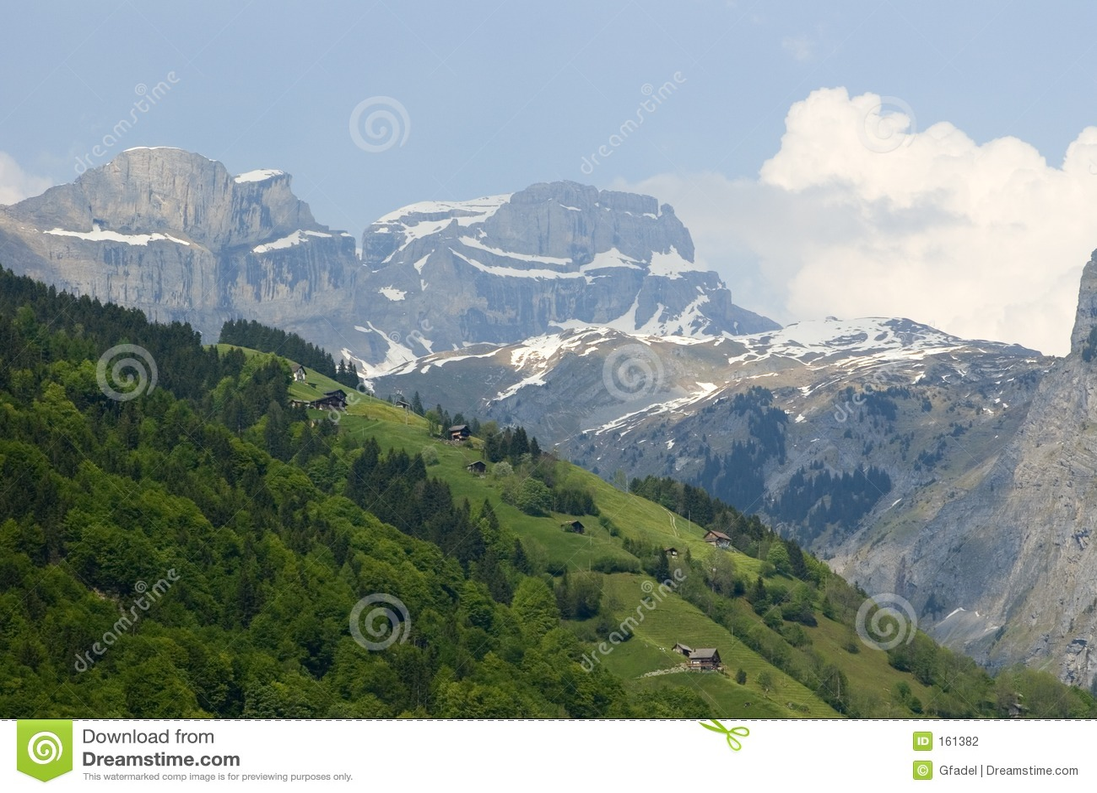 瑞士的阿尔卑斯