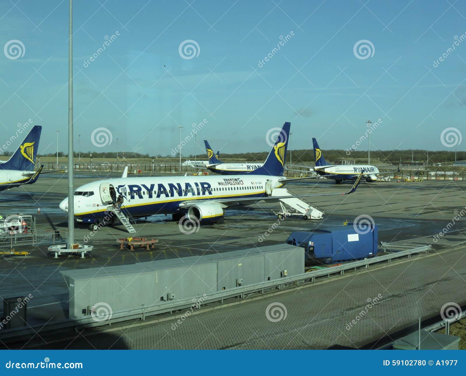 瑞安航空公司航空器