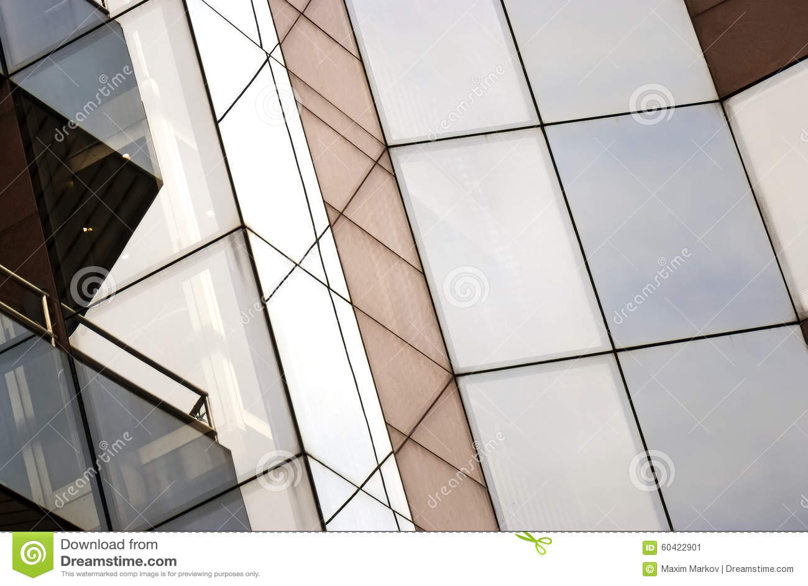 玻璃大厦,城市的现代不动产