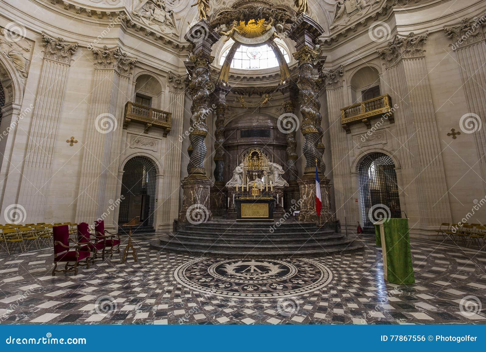 瓦勒德格拉斯的教会,巴黎,法国