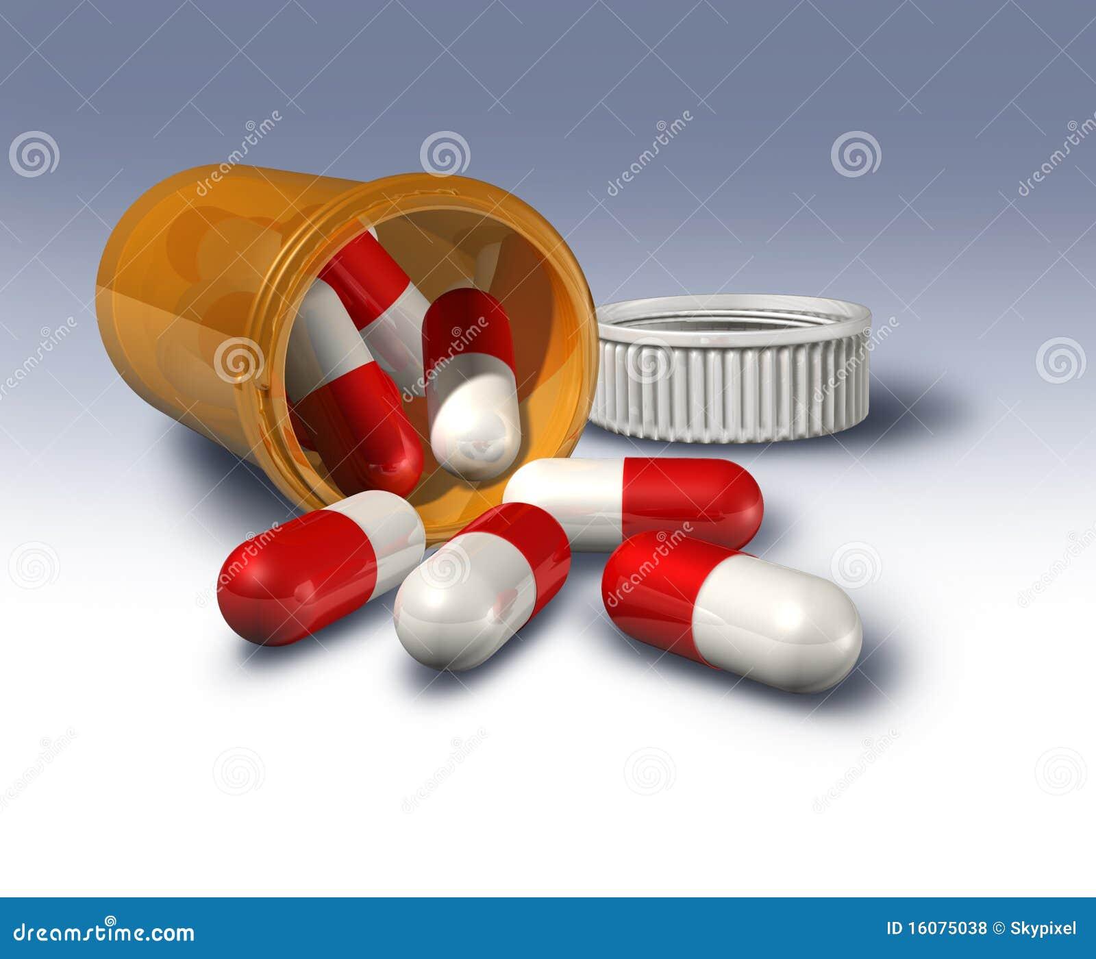 瓶使药片规定服麻醉剂