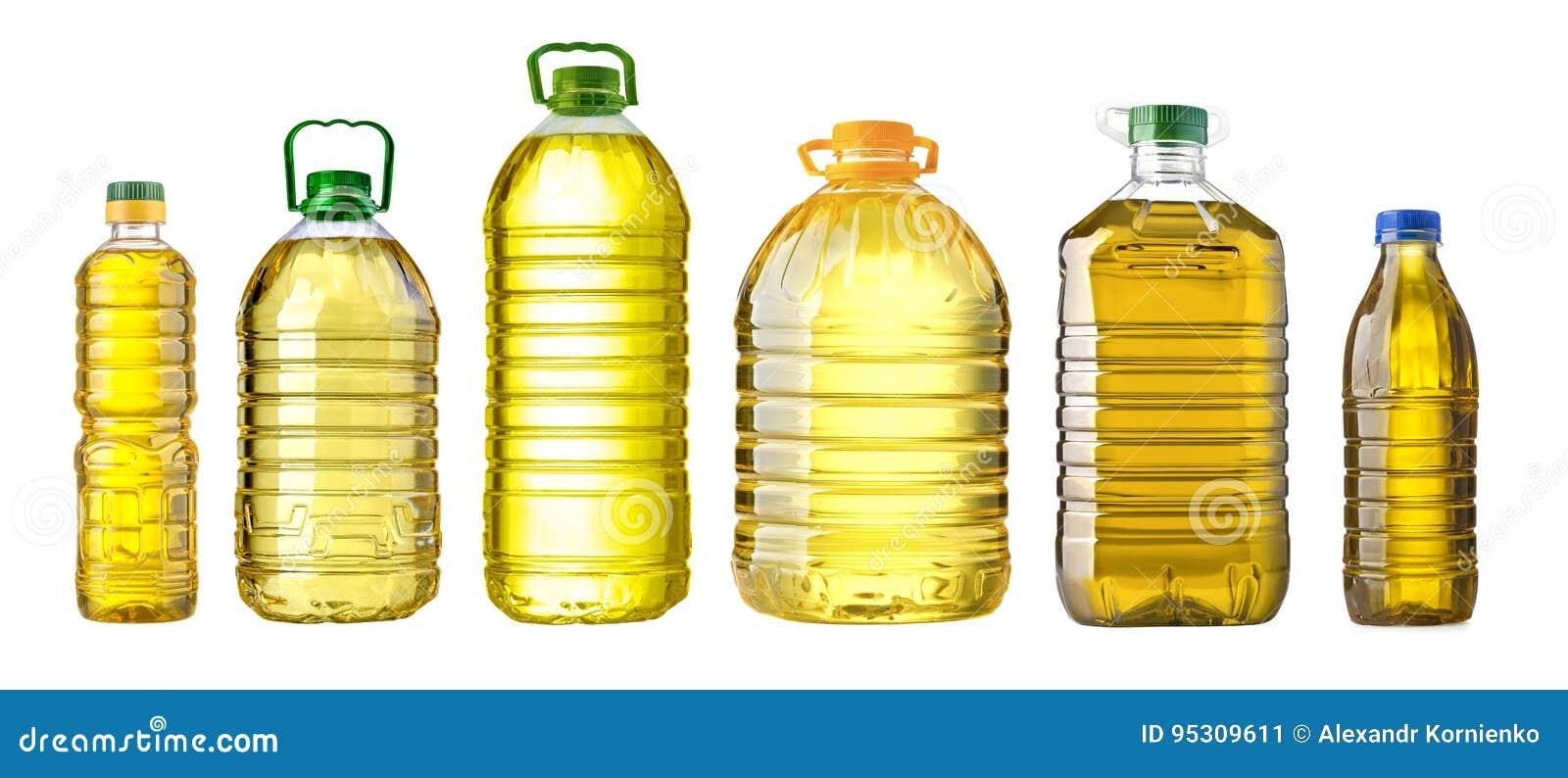 瓶油塑料大在白色背景