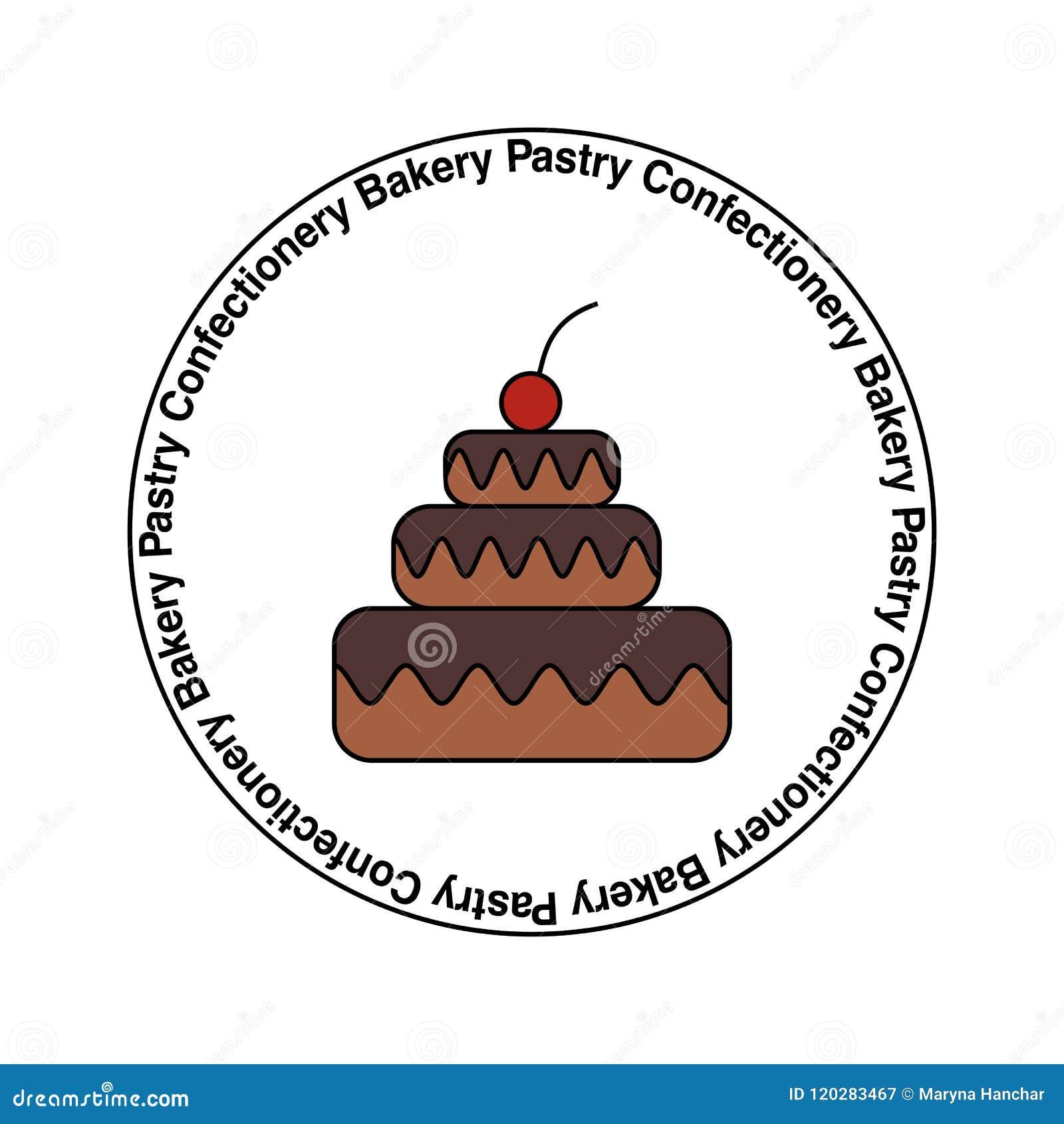 甜商店,酥皮点心,糖果店,面包店,自创蛋糕传染媒介商标,象征,贴纸