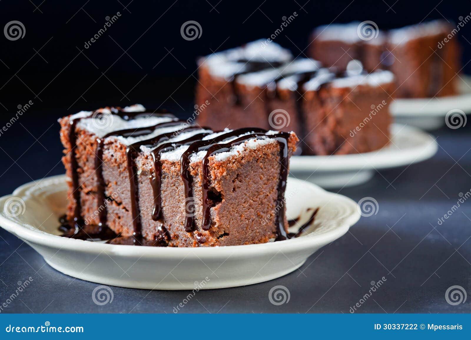 甜巧克力蛋糕