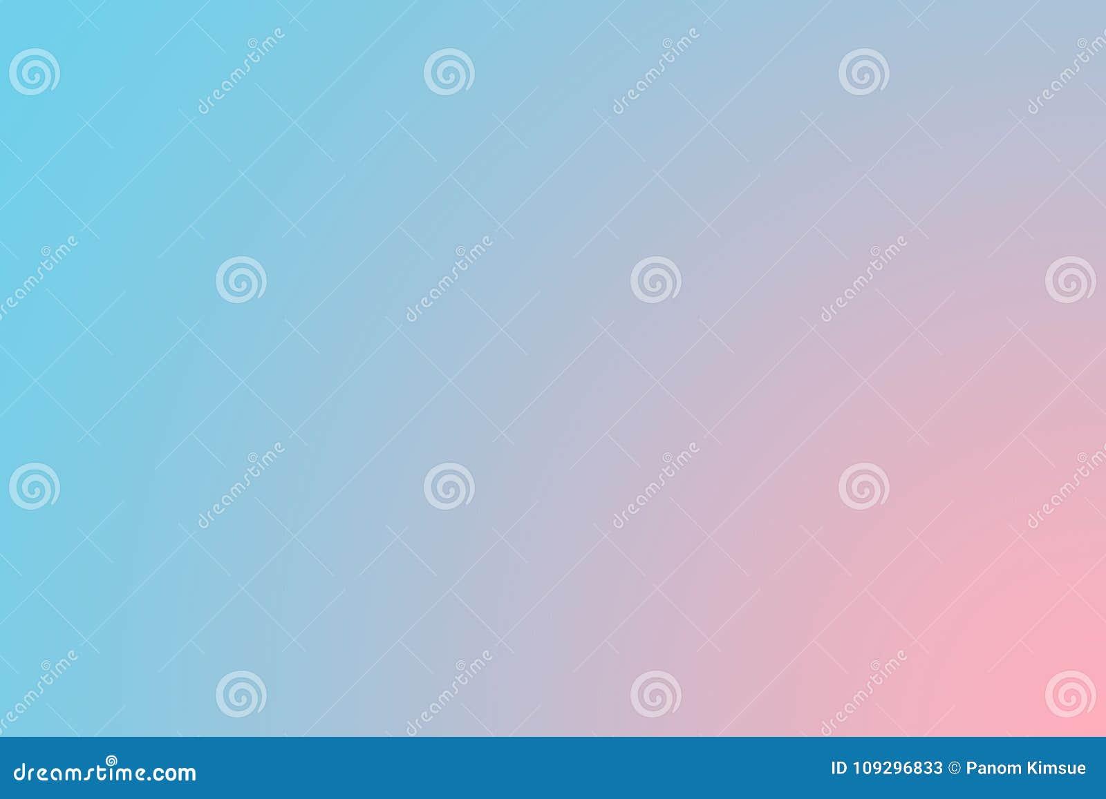 甜点软绵绵地弄脏了蓝色和桃红色淡色背景 抽象梯度桌面墙纸