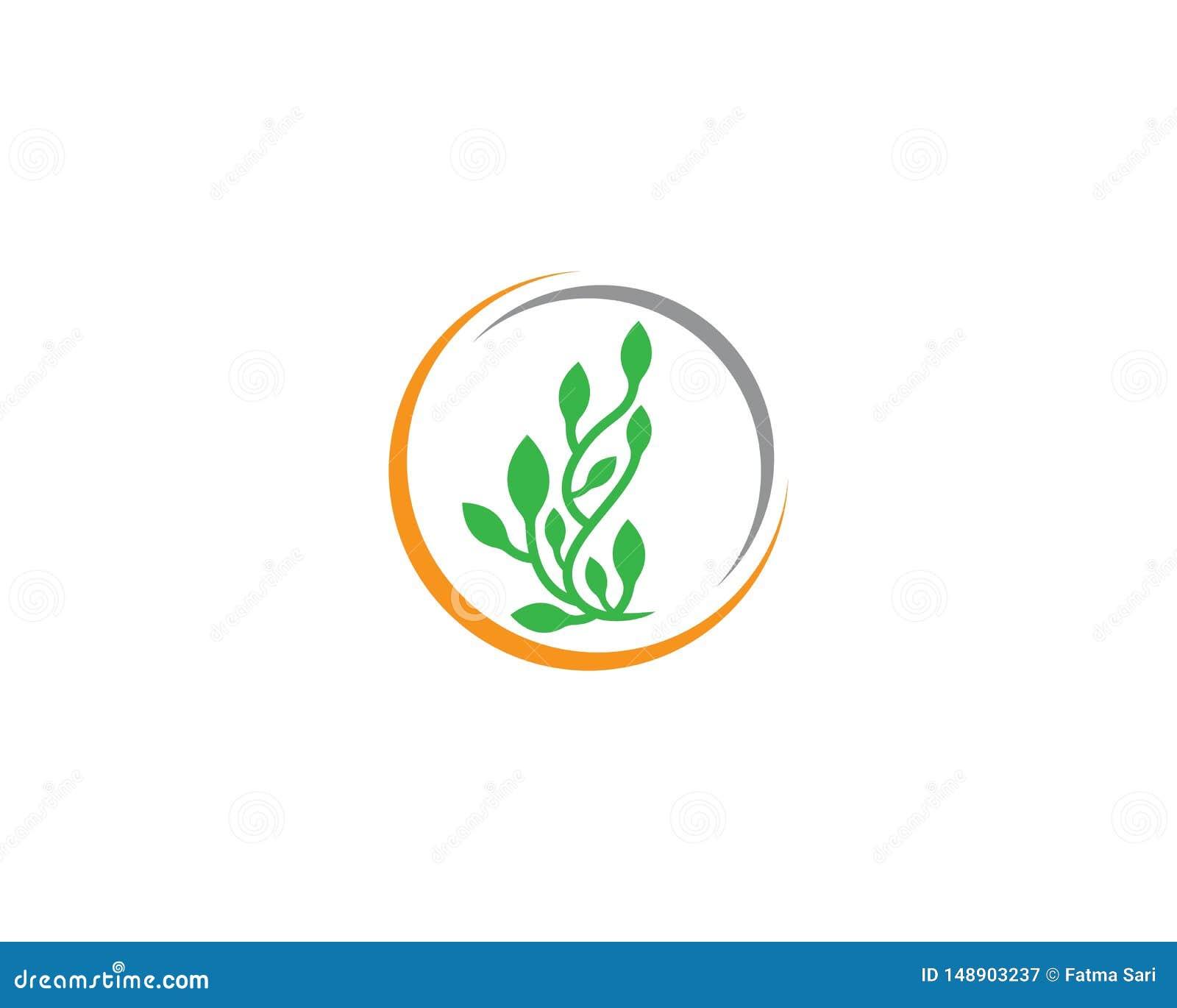 生态商标例证