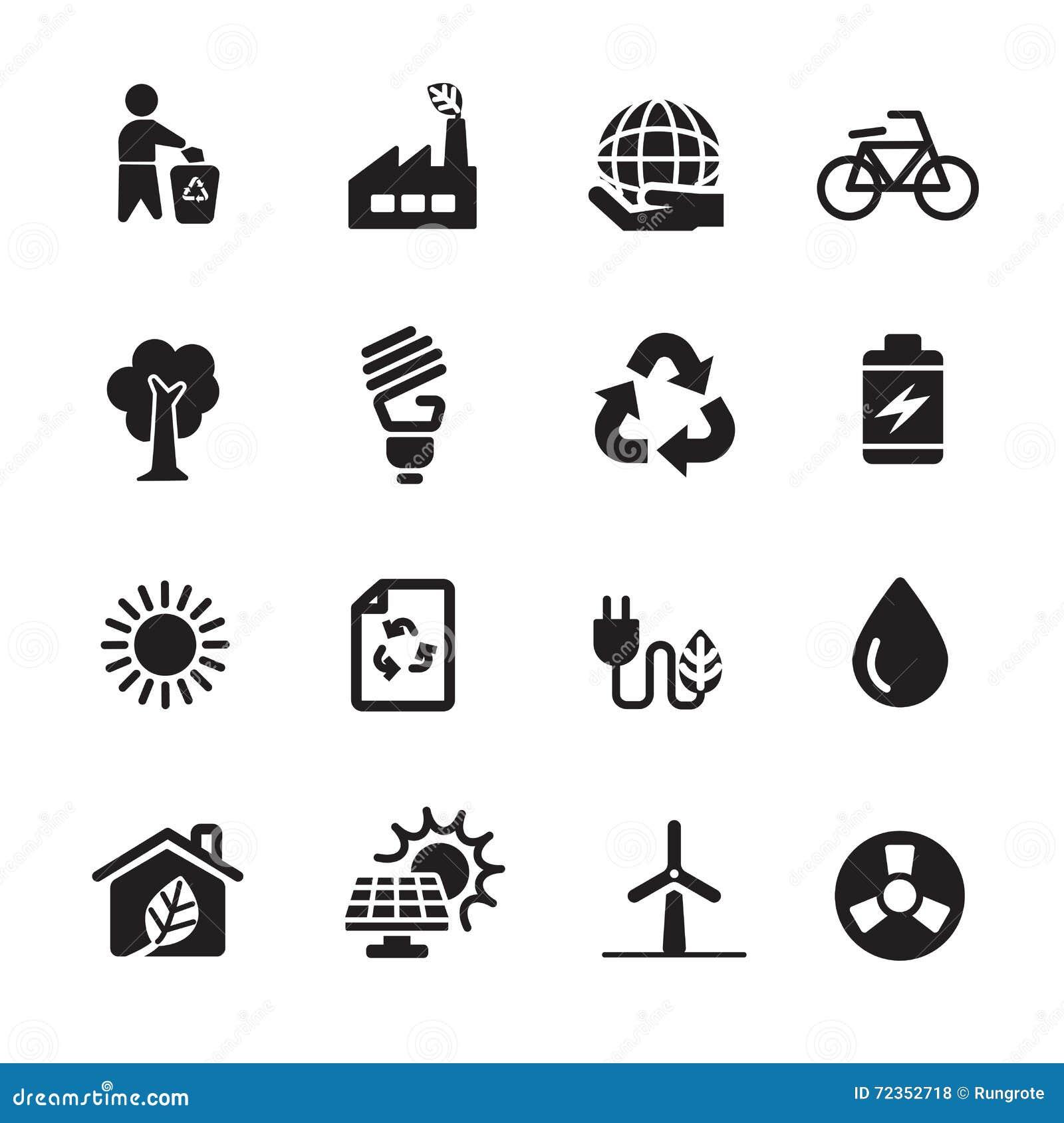 生态能量象集合,传染媒介eps10