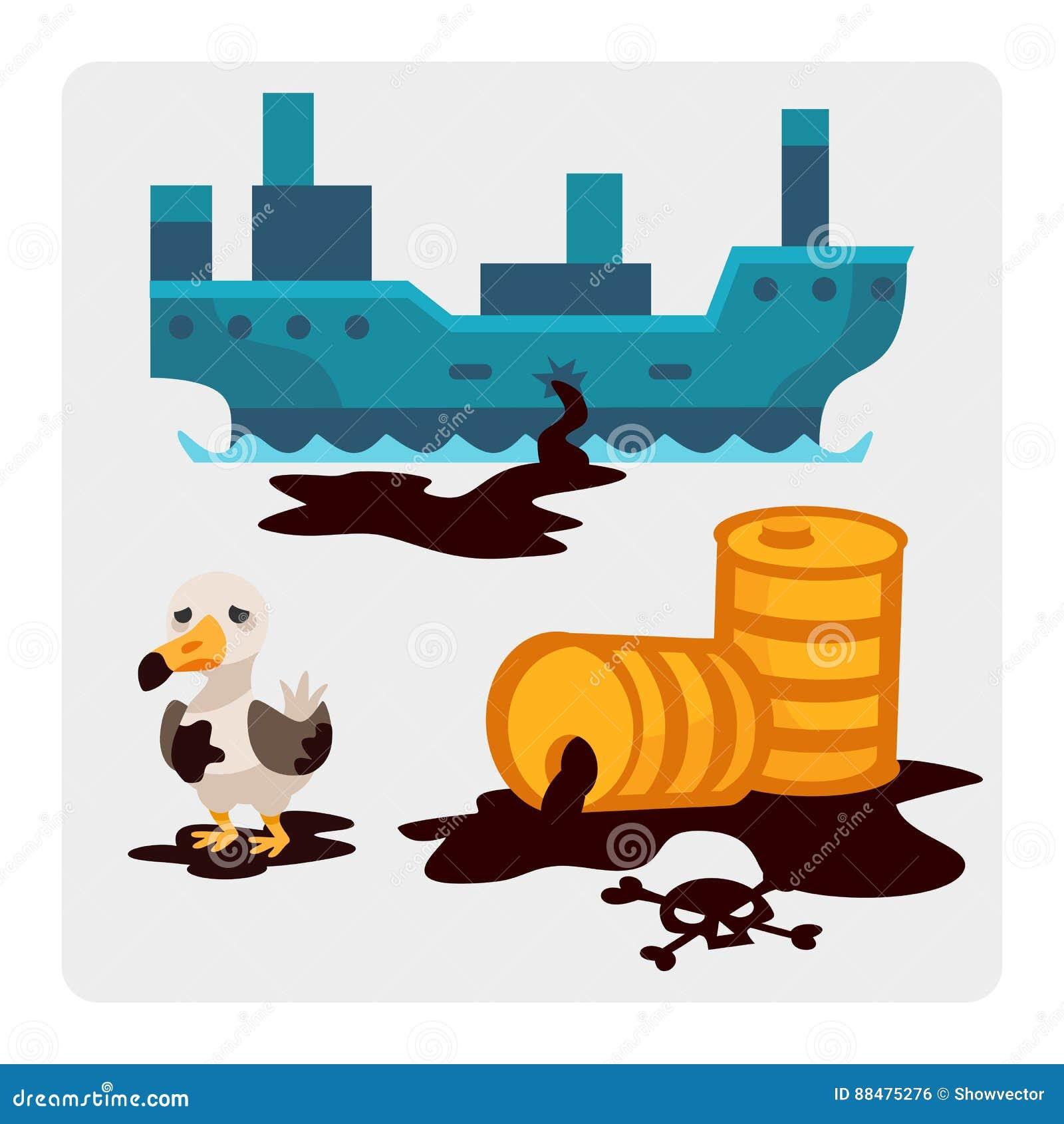 生态水地球空气动物的砍伐森林破坏的问题环境油污染碾碎工厂